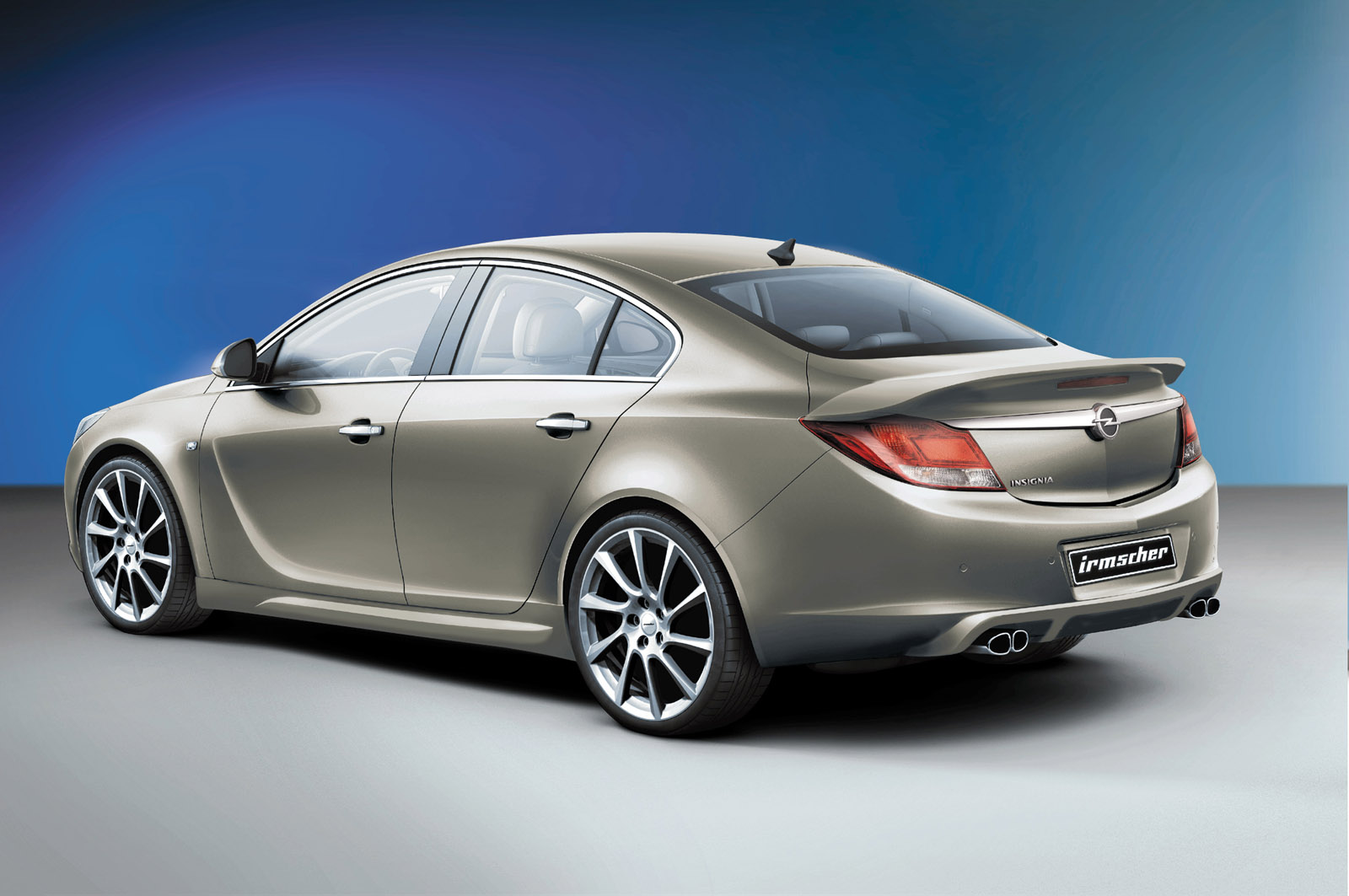 The New Opel Insignia Refined By Irmscher