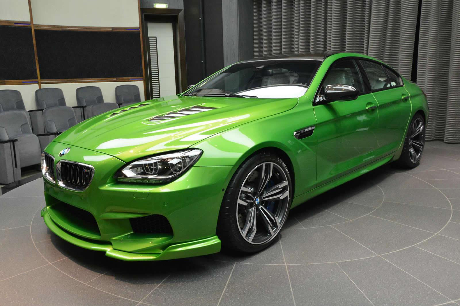 Car Paint Job Cost >> New Individualized Java Green BMW M6 Gran Coupe in Abu Dhabi