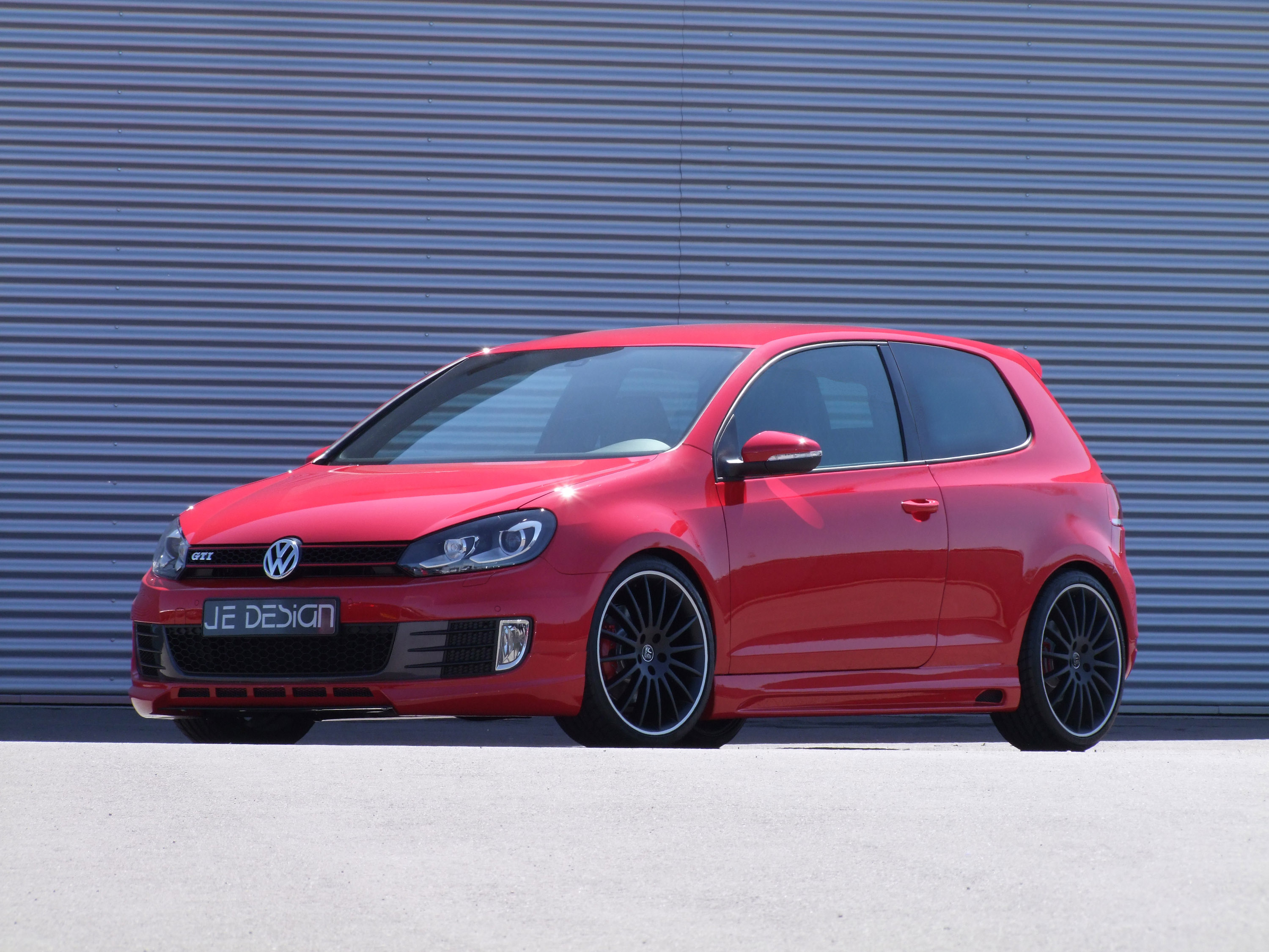 JE DESIGN Boosted VW Golf VI GTI To 270HP