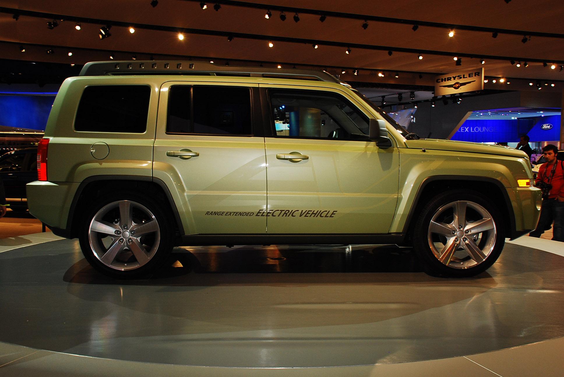 jeep patriot ev detroit 2009 - picture 47956