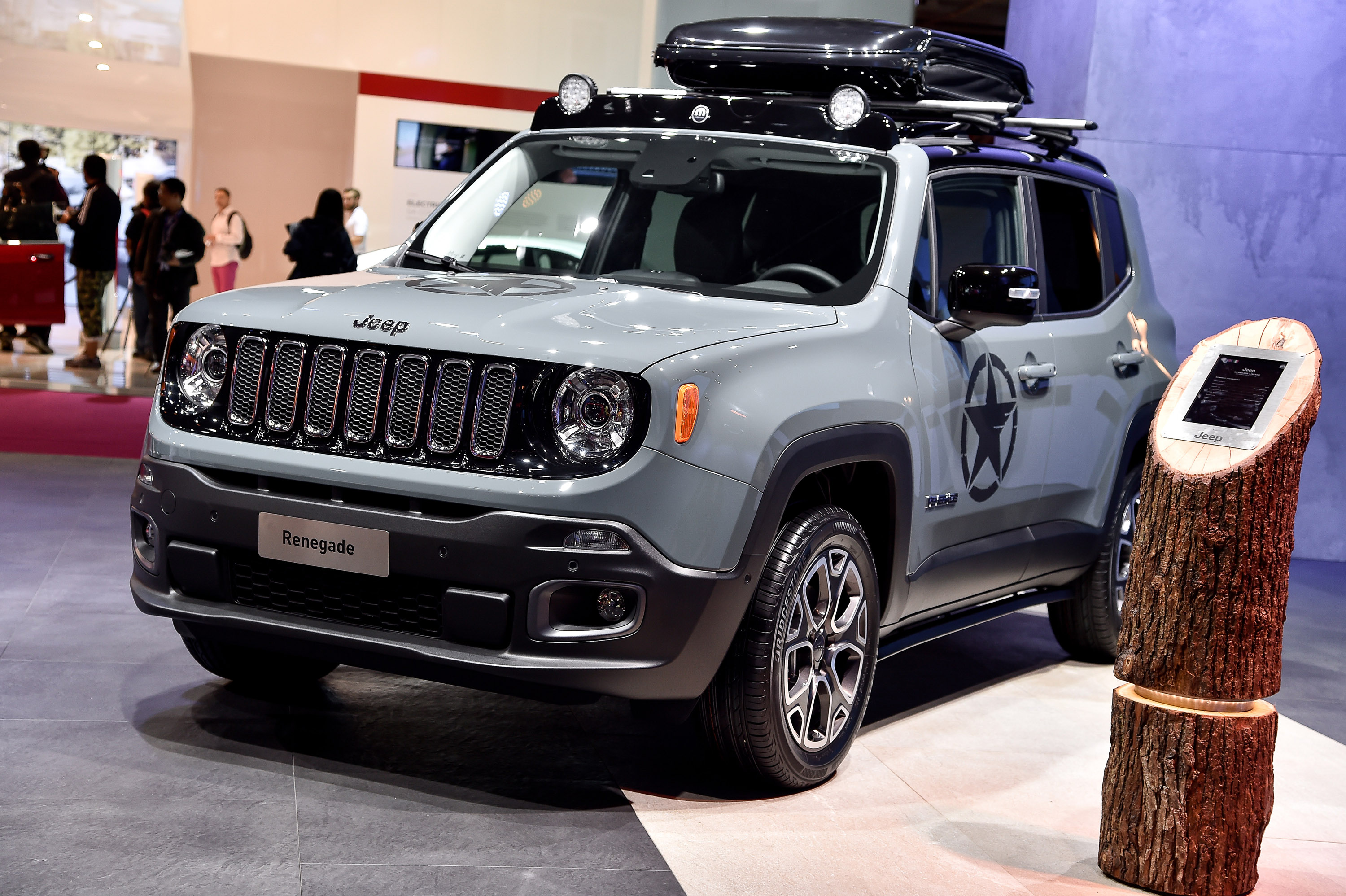 Jeep Renegade Paris 2014 Picture 112011