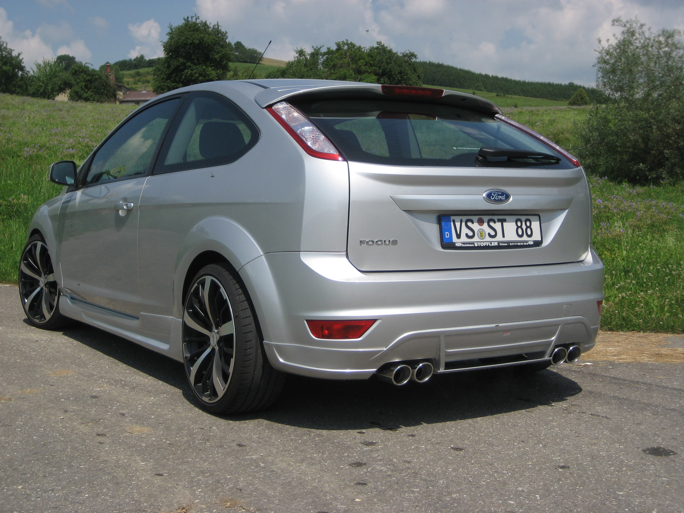 ford focus and ford focus st received jms styling. Black Bedroom Furniture Sets. Home Design Ideas