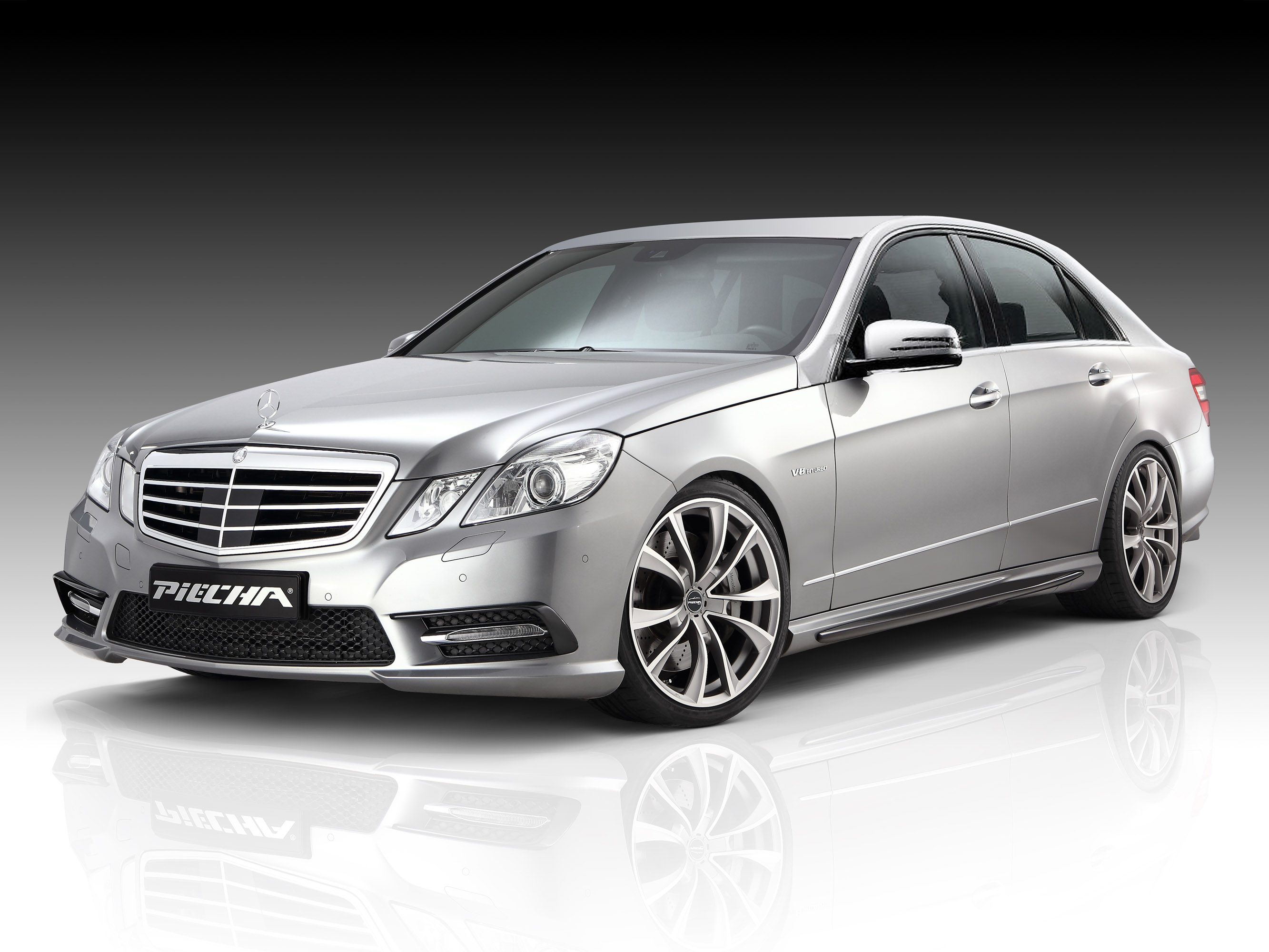 piecha design and jms introduce upgrade for mercedes benz e class w212. Black Bedroom Furniture Sets. Home Design Ideas