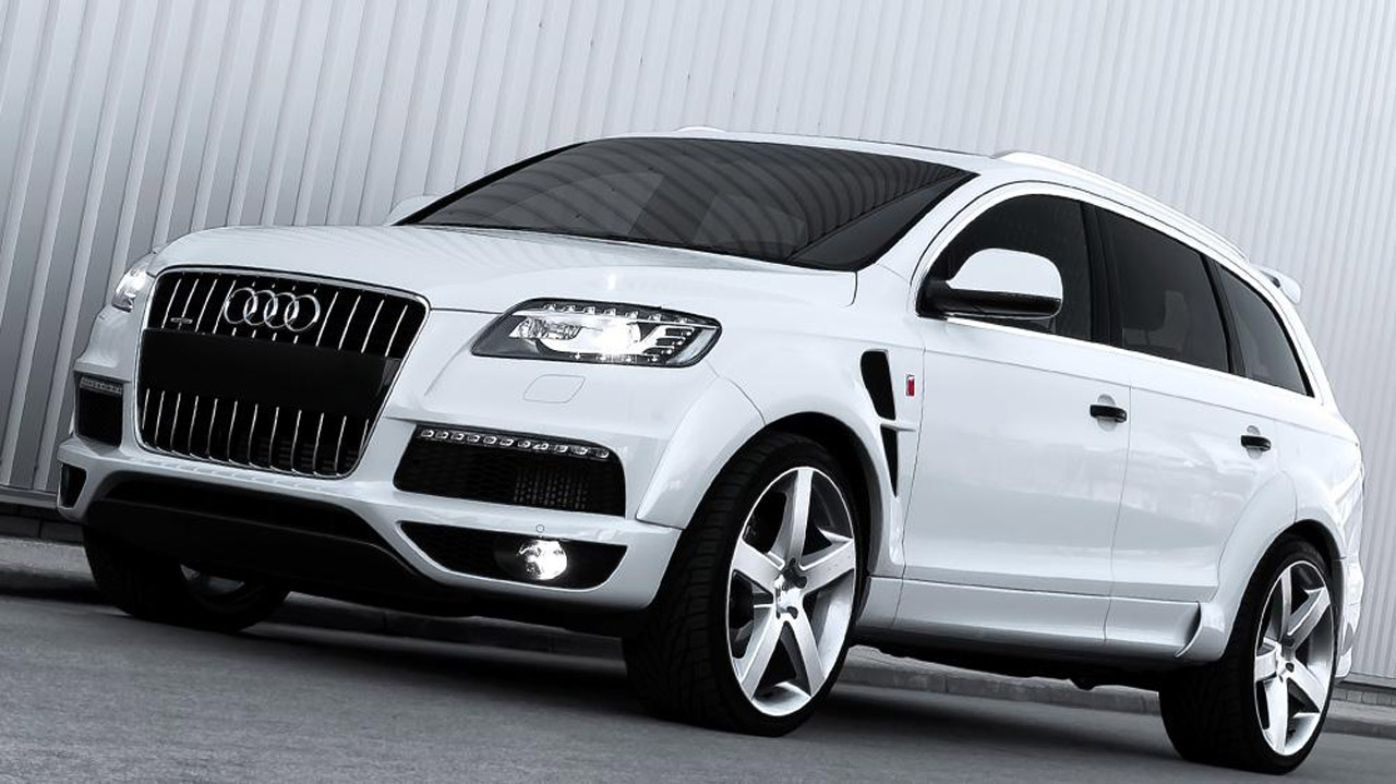 kahn design wide track audi q7 quattro 3 0 diesel s line. Black Bedroom Furniture Sets. Home Design Ideas