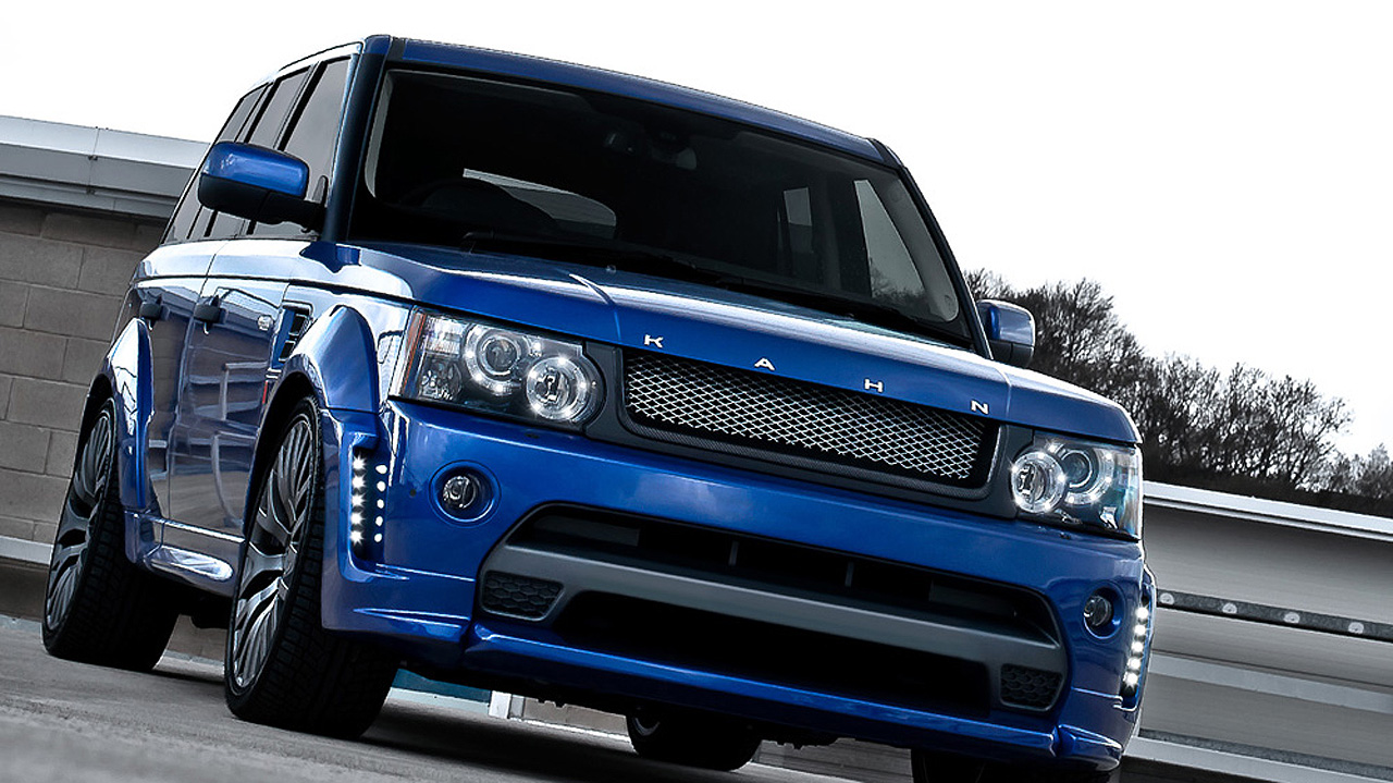 Range Rover Autobiography 2010 >> Kahn Range Rover Bali Blue RS300 Cosworth