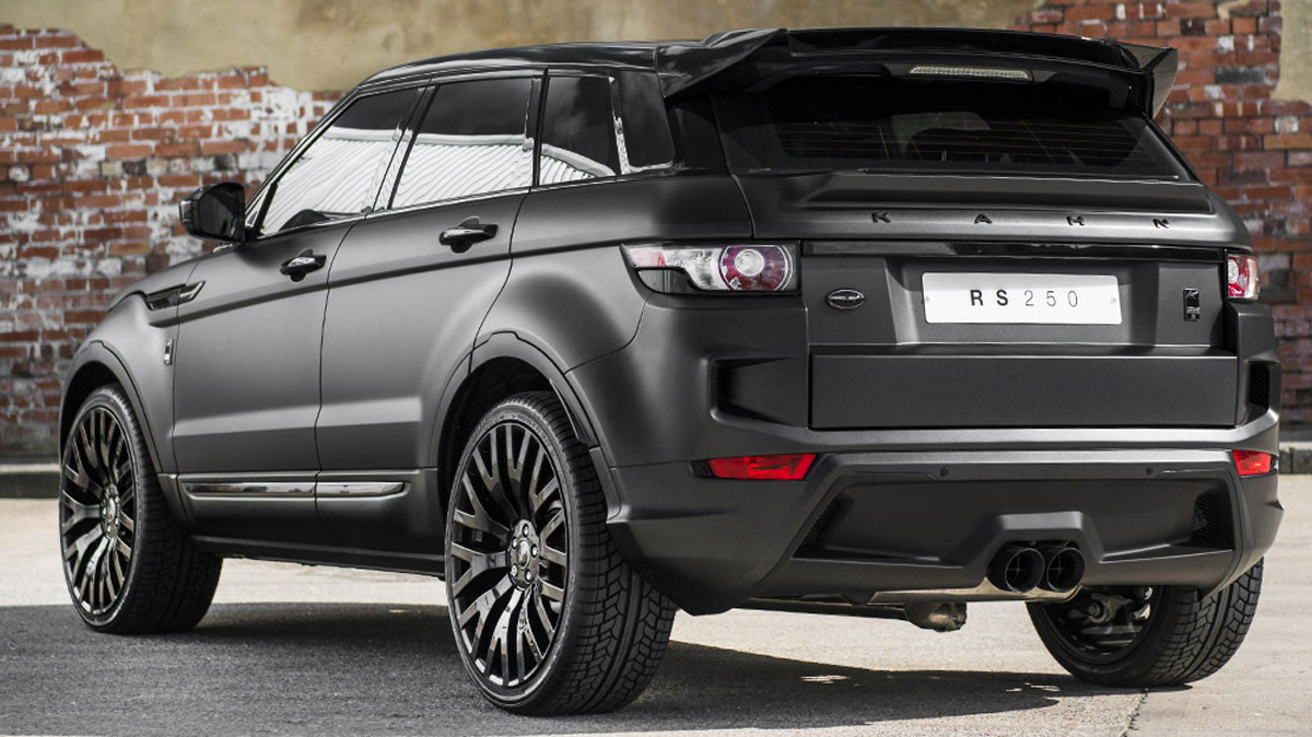 kahn shows volcanic grey range rover evoque rs sport. Black Bedroom Furniture Sets. Home Design Ideas