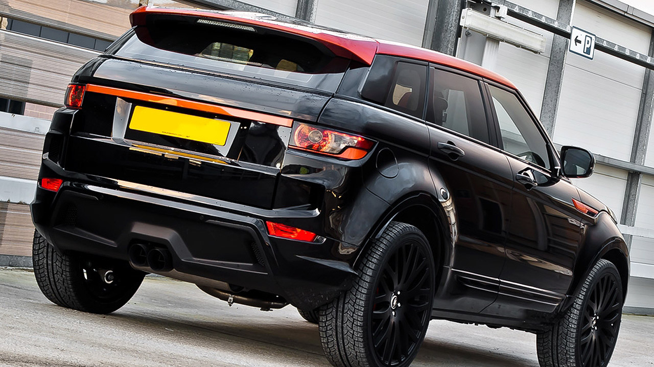 Full Of Style And Charisma Kahn Range Rover Evoque Rs250