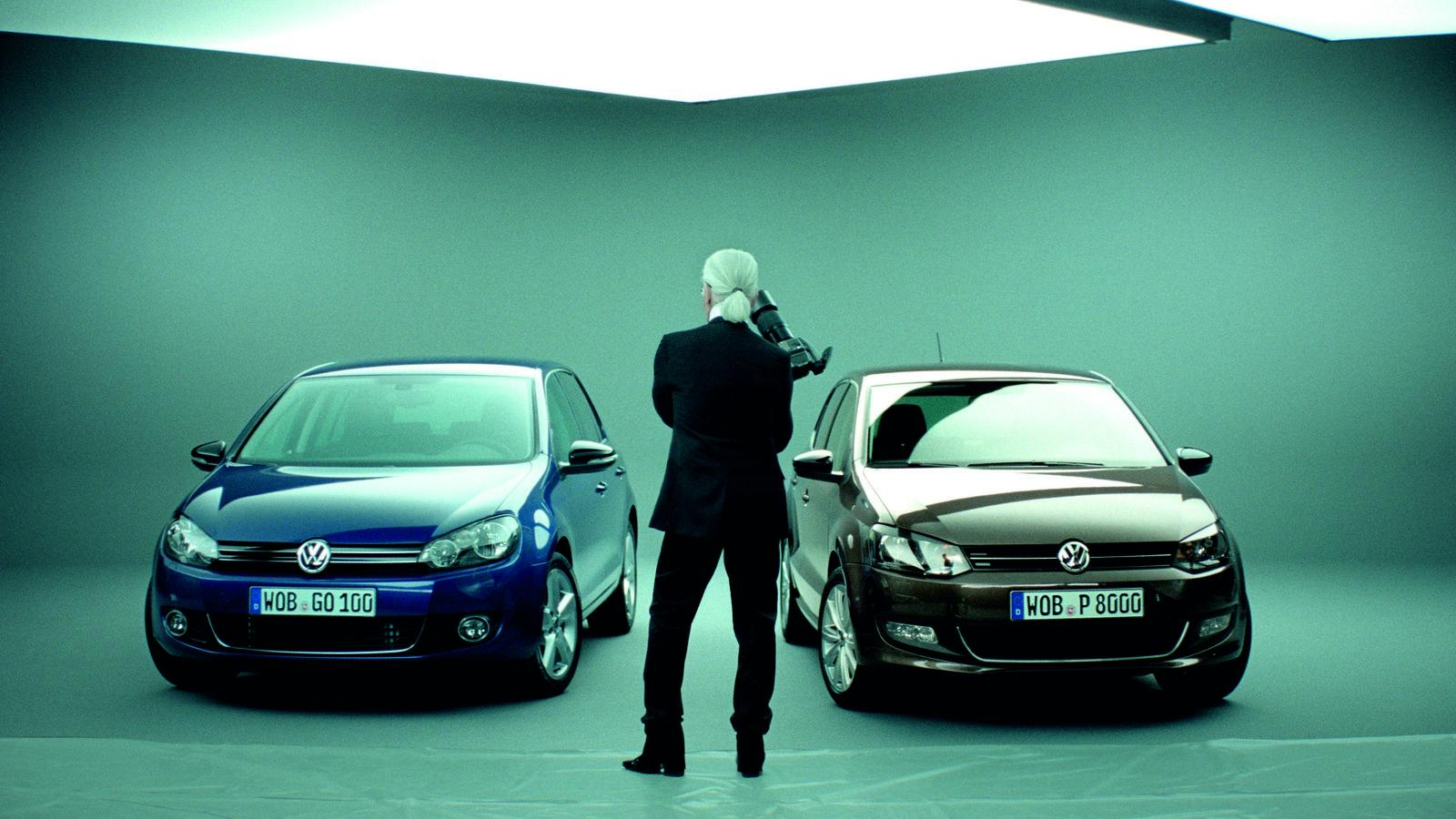 Volkswagen Polo And Golf Style By Karl Lagerfeld