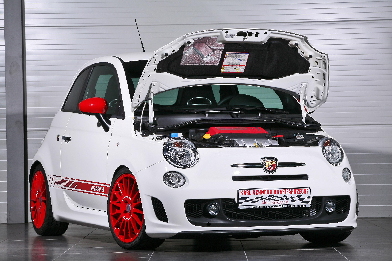 Karl Schnorr's power upgrades for Fiat 500 Abarth