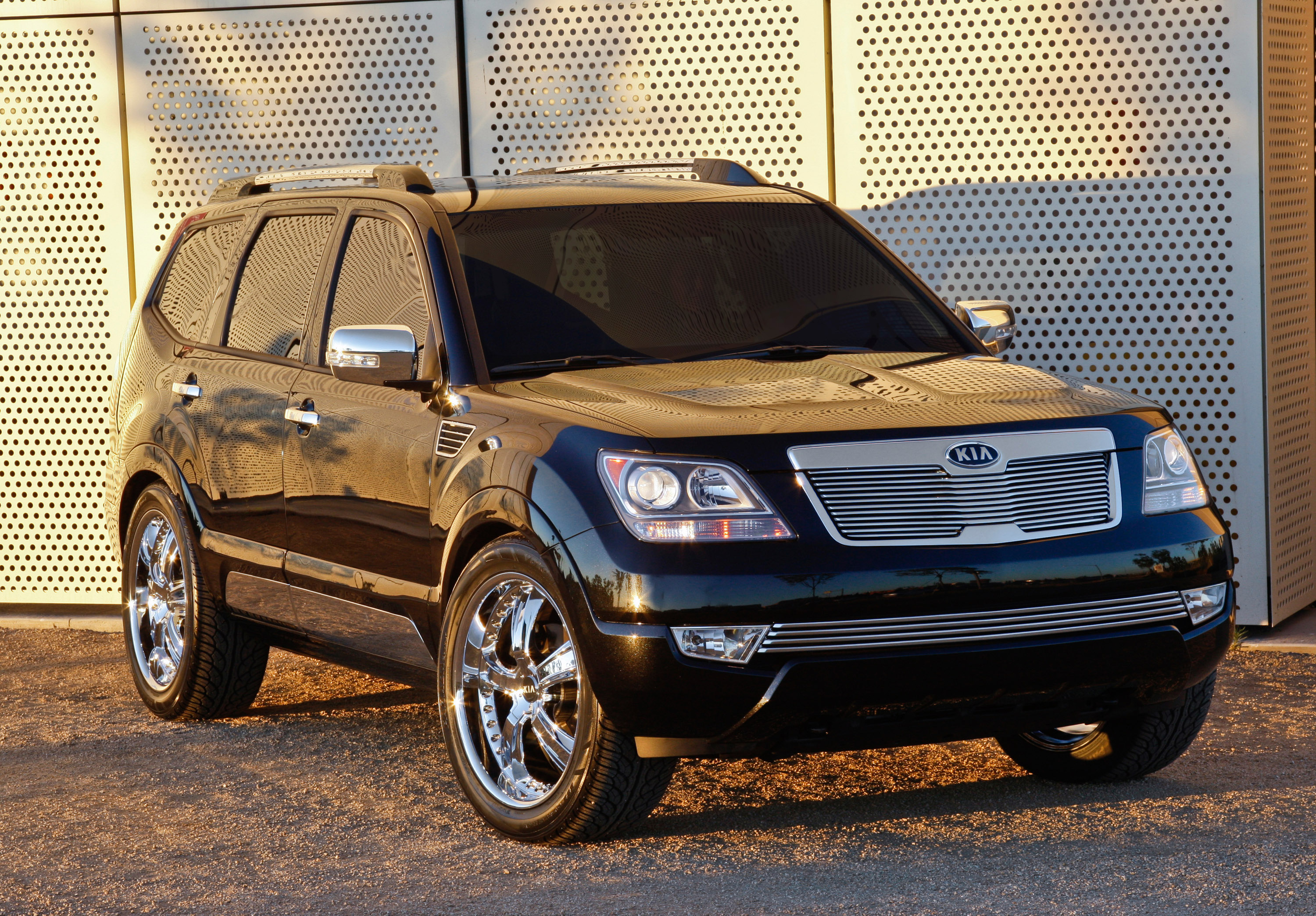 Kia Motors America Shows Off Stylized Concept Vehicles During 2008 Borrego Fuse Box Limited