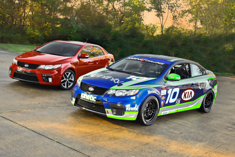 Kia Forte Koup Grand Am Race Car