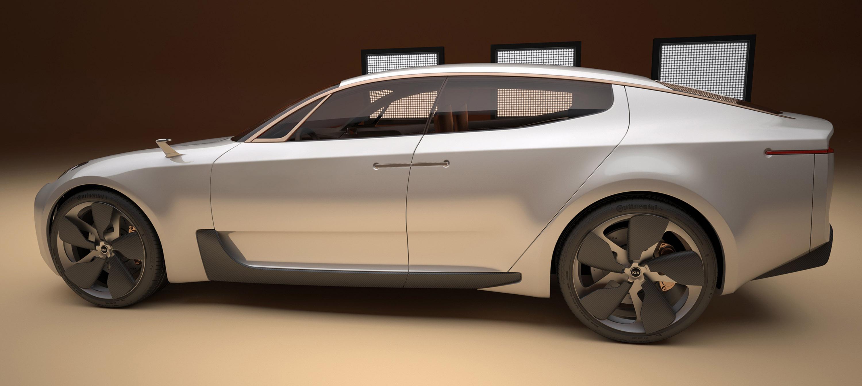 Worksheet. KIA Fourdoor Sports Sedan Concept  Picture 57556