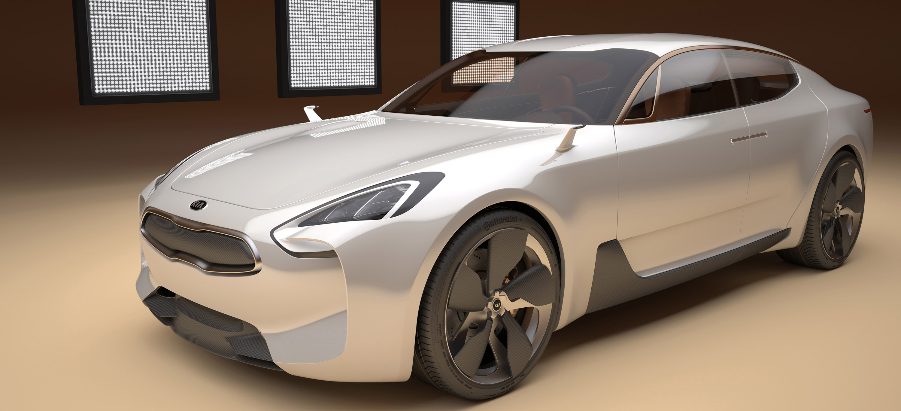 Kia Four Door Sports Sedan Concept Picture 58172