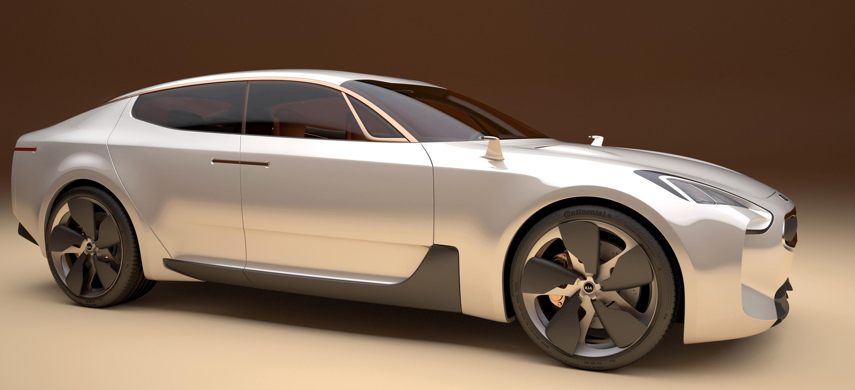 KIA Four Door Sports Sedan Concept
