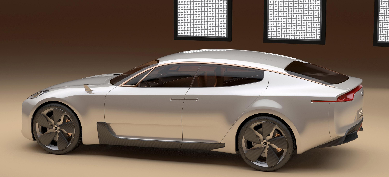 Four Door Sports Cars >> KIA Four-door Sports Sedan Concept at Frankfurt Motor Show
