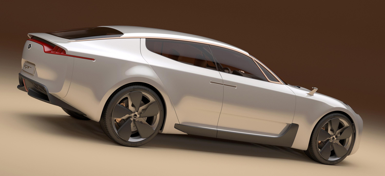 ... KIA Four Door Sports Sedan Concept, ...