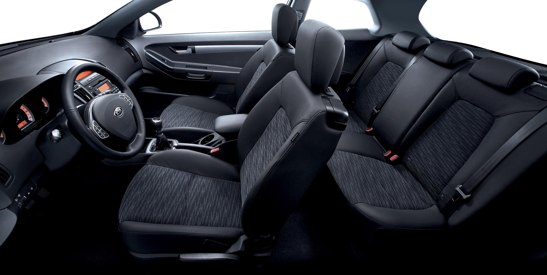 Kia Ceed seats