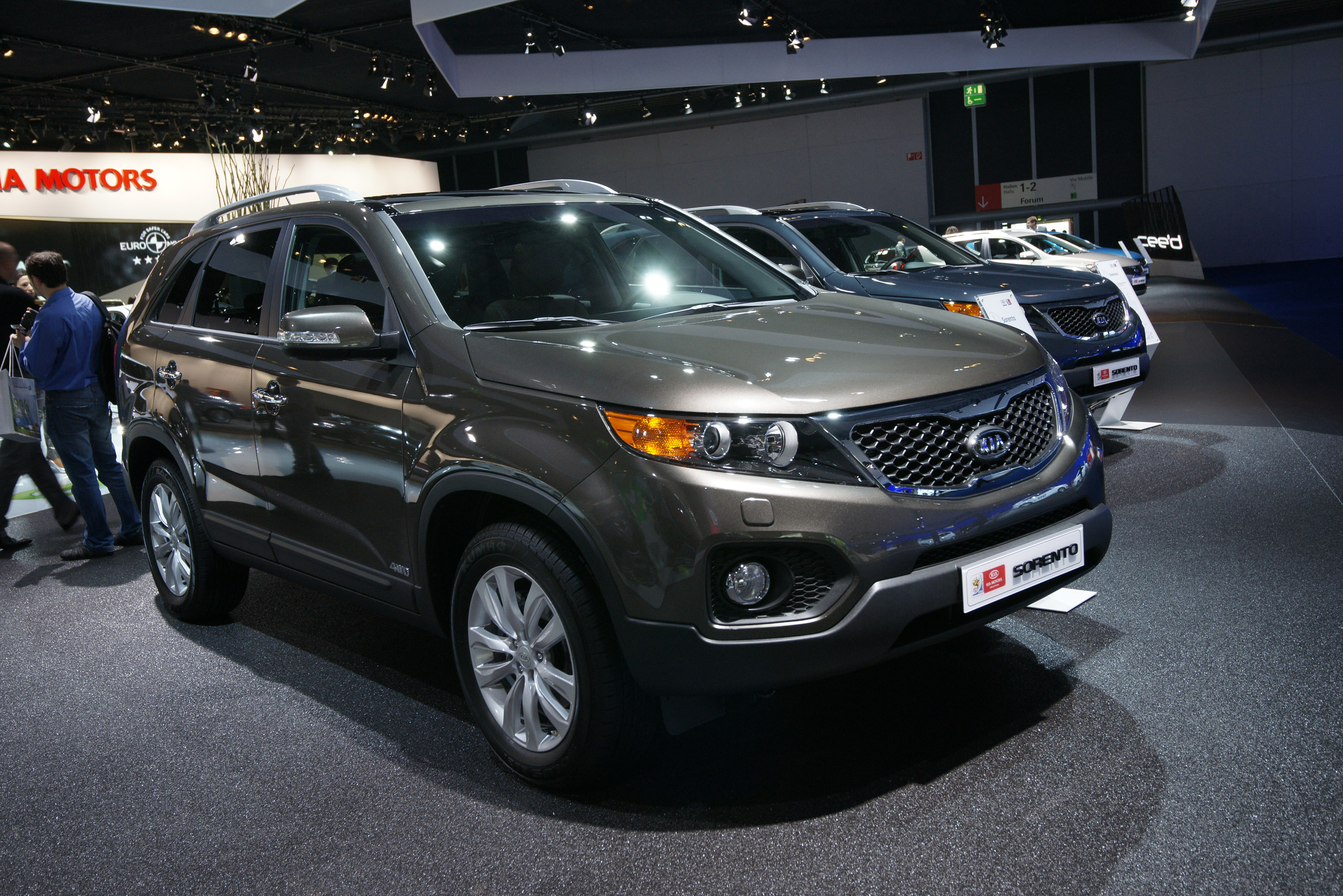 crossover h news subtly kia first better sorento a drive