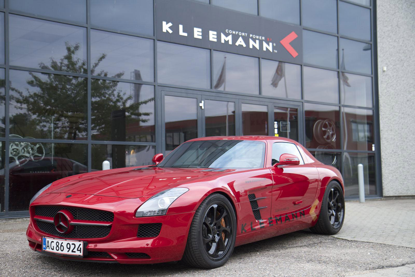 Kleemann Mercedes SLS AMG Top Speed 356 Kmh