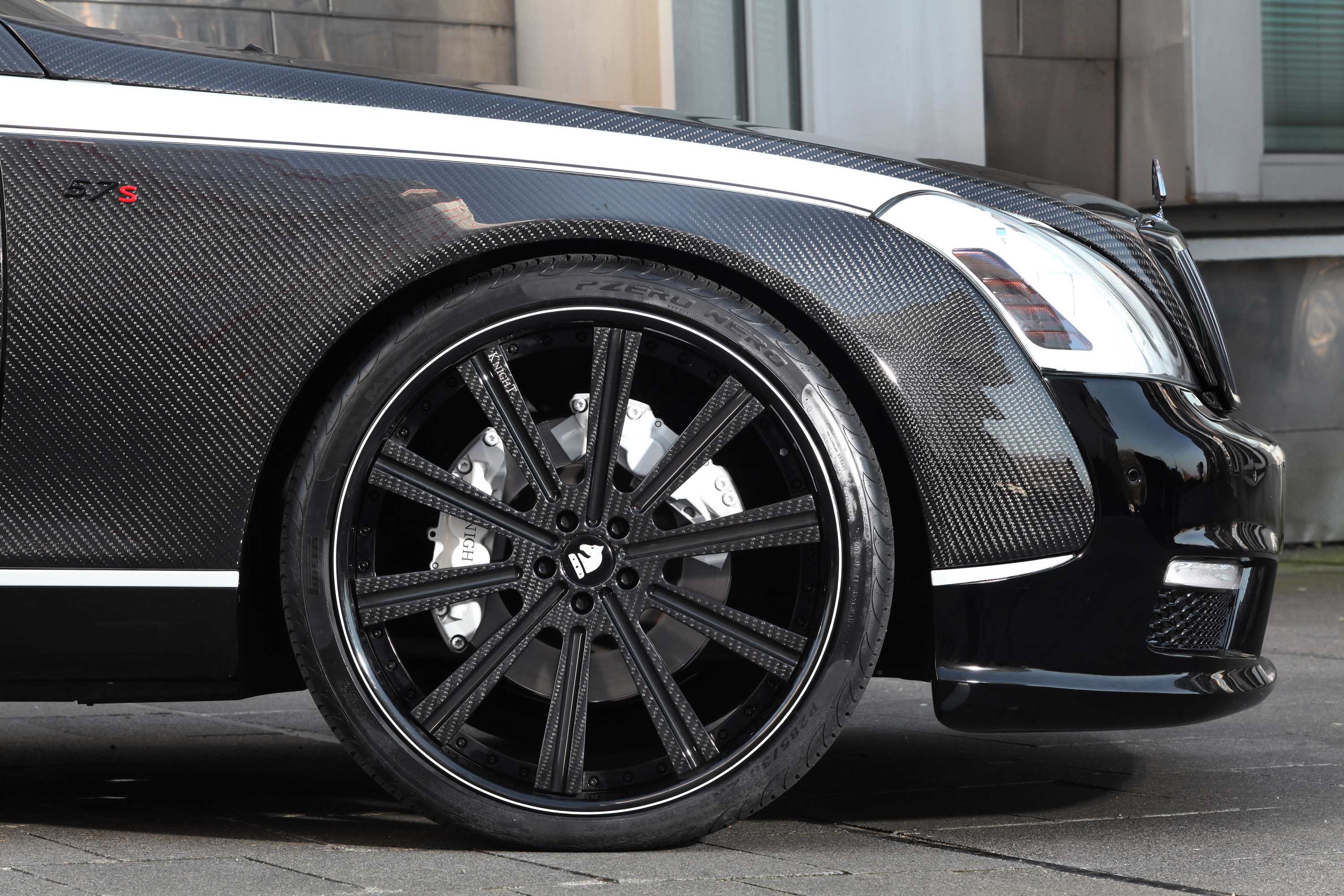 an exclusive maybach 57sknight luxury