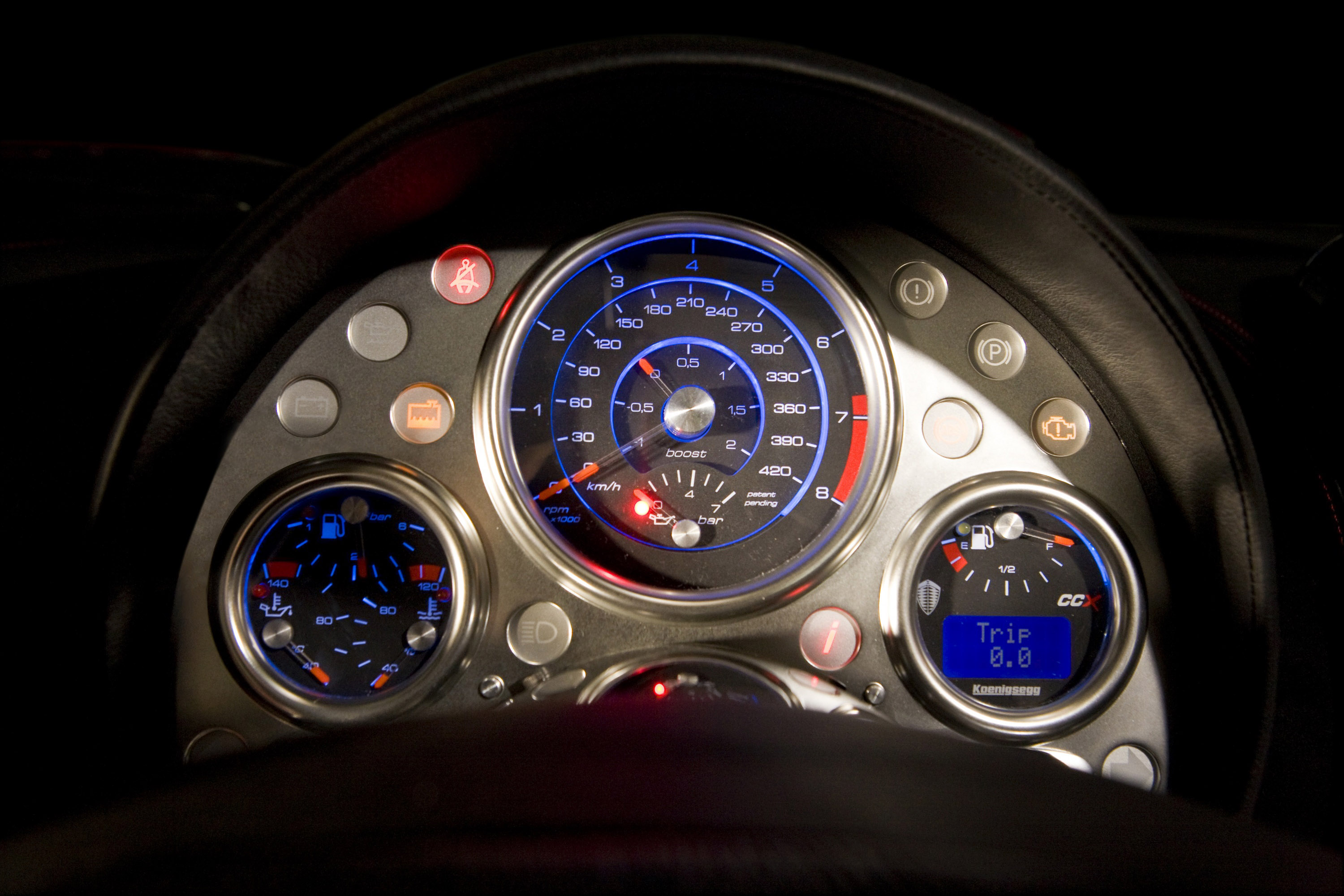 Koenigsegg ccx studio e picture 15017 for Interieur online