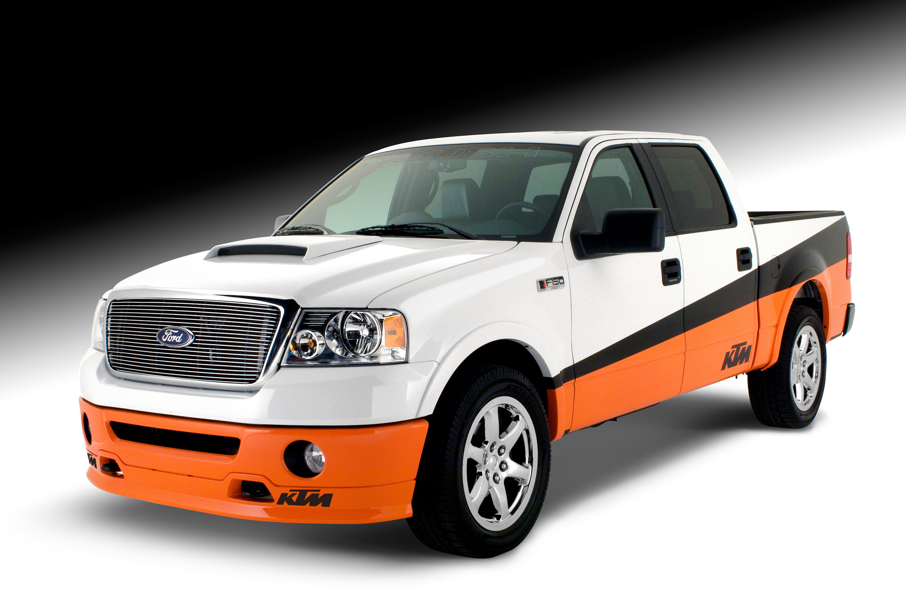 ktm edition roush ford f 150 picture 16372. Black Bedroom Furniture Sets. Home Design Ideas
