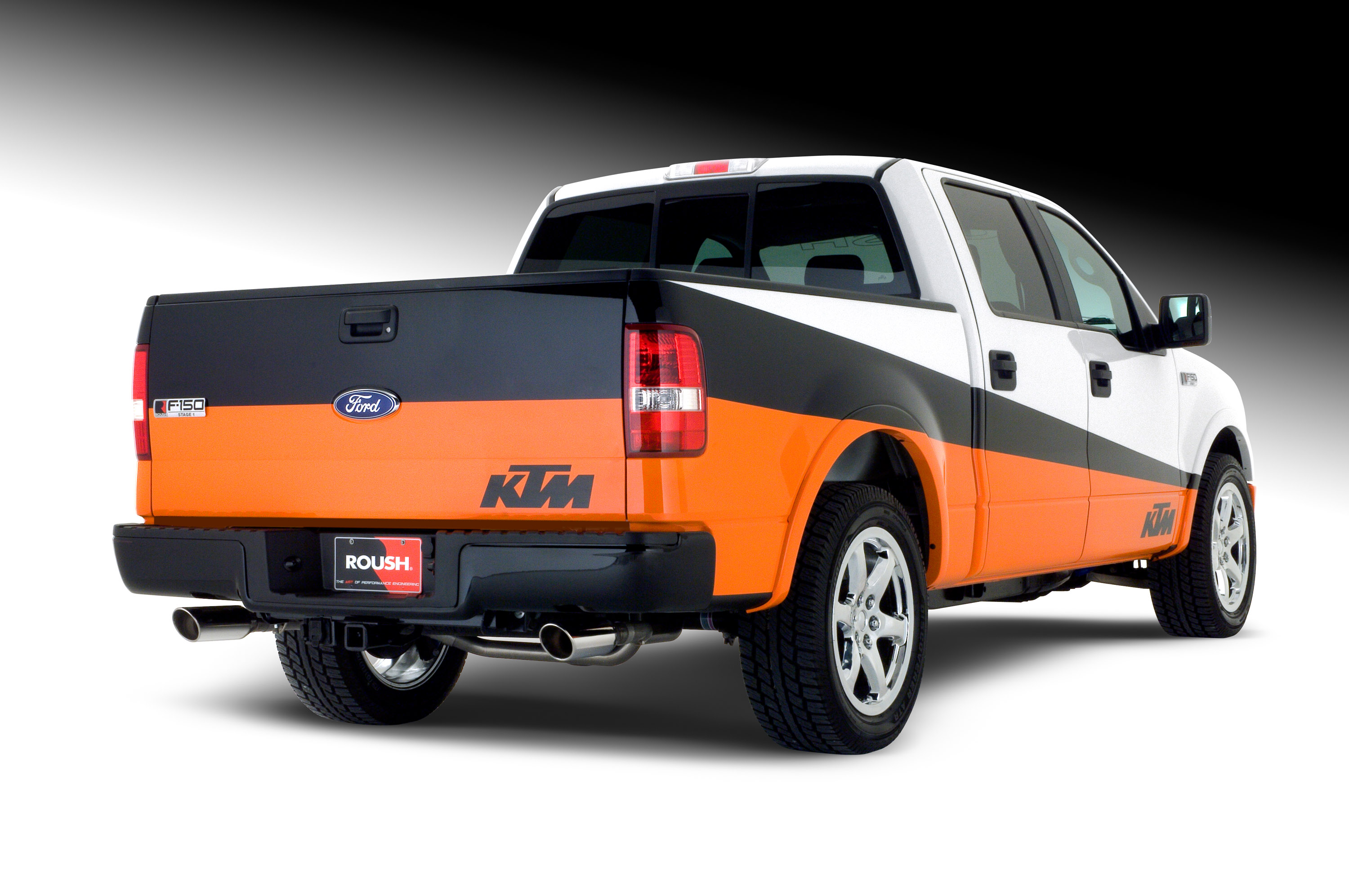 ktm edition roush ford f 150 picture 16370. Black Bedroom Furniture Sets. Home Design Ideas