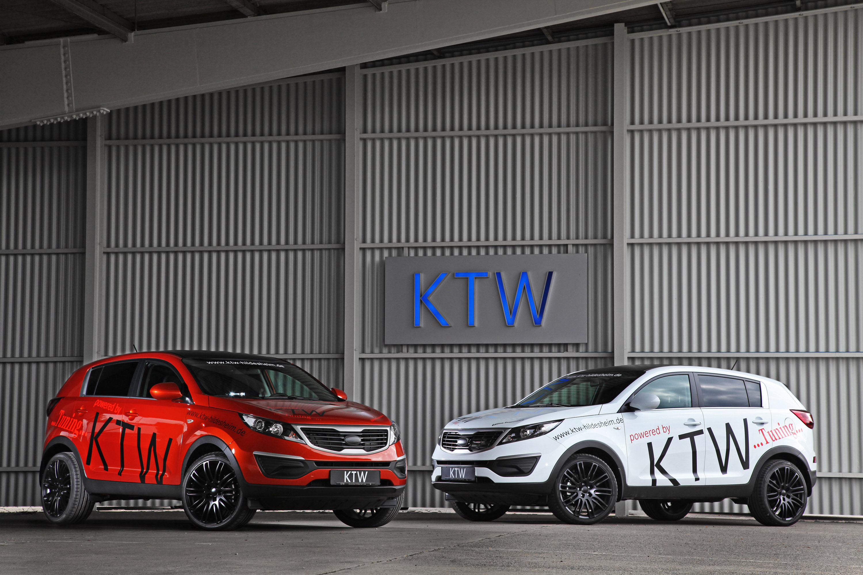 KTW Tuning Gives New Look To Kia Sportage