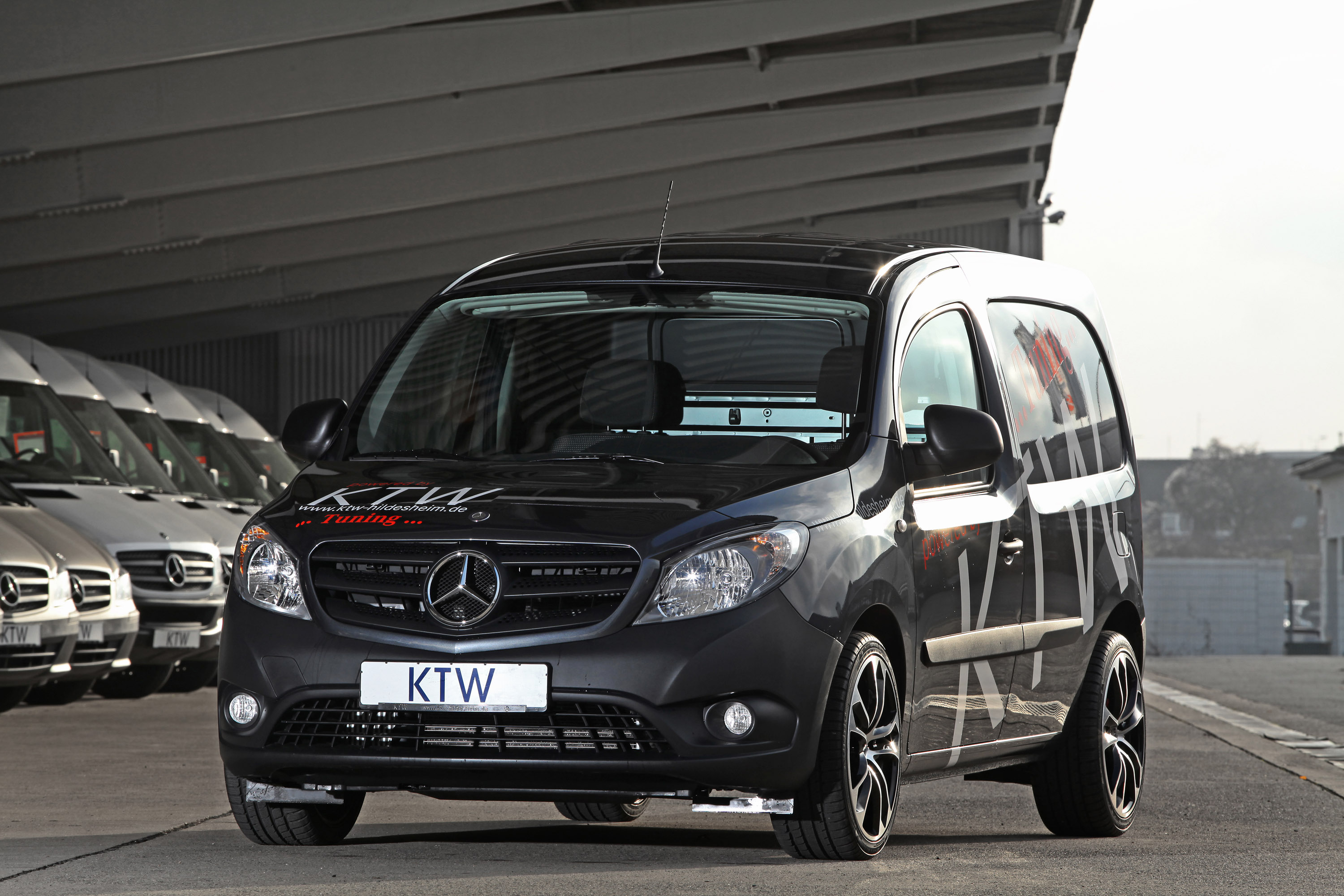 ktw tuning mercedes benz citan. Black Bedroom Furniture Sets. Home Design Ideas