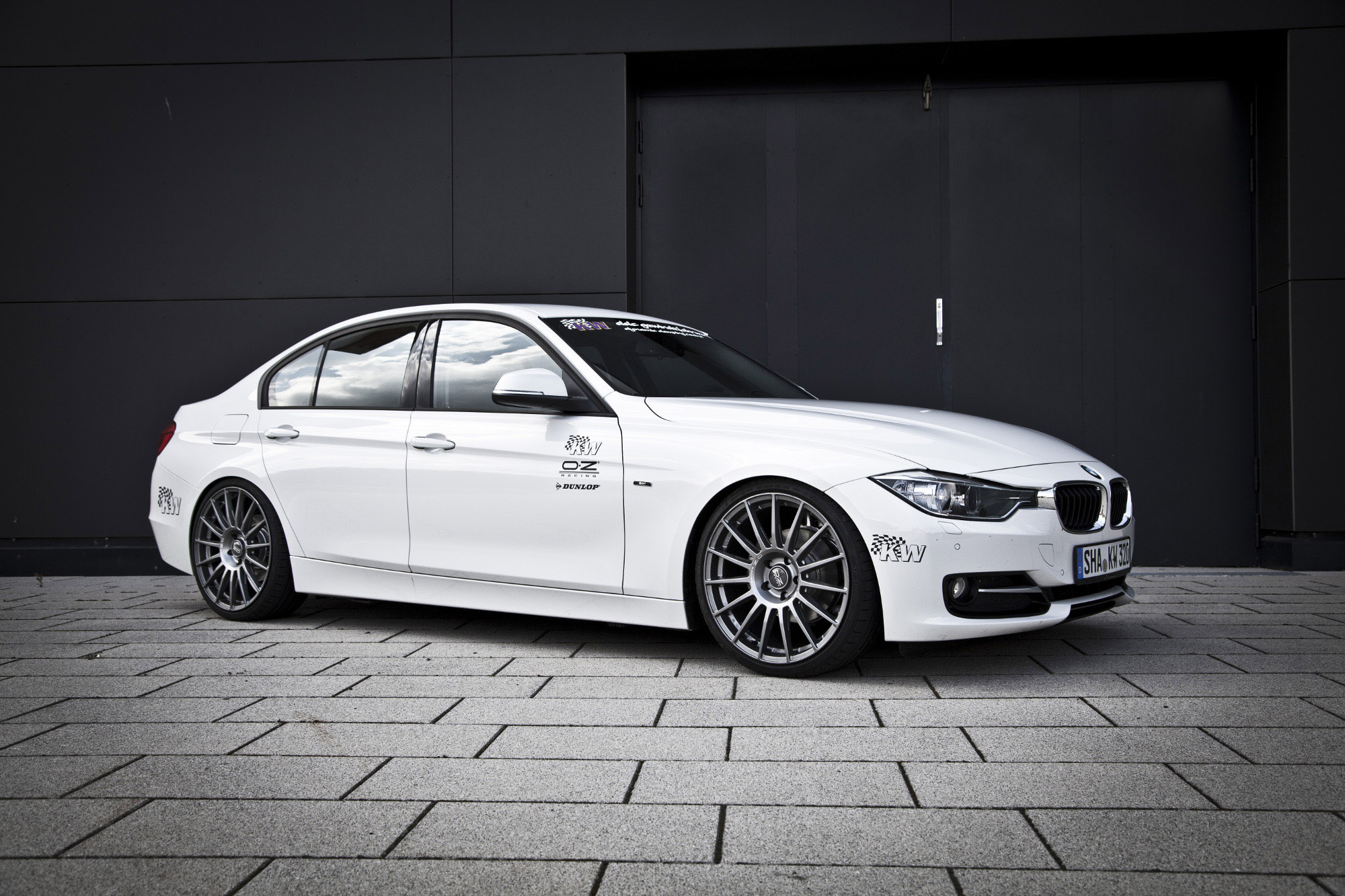 kw coilover kit for the new 2012 bmw 3 series f30. Black Bedroom Furniture Sets. Home Design Ideas