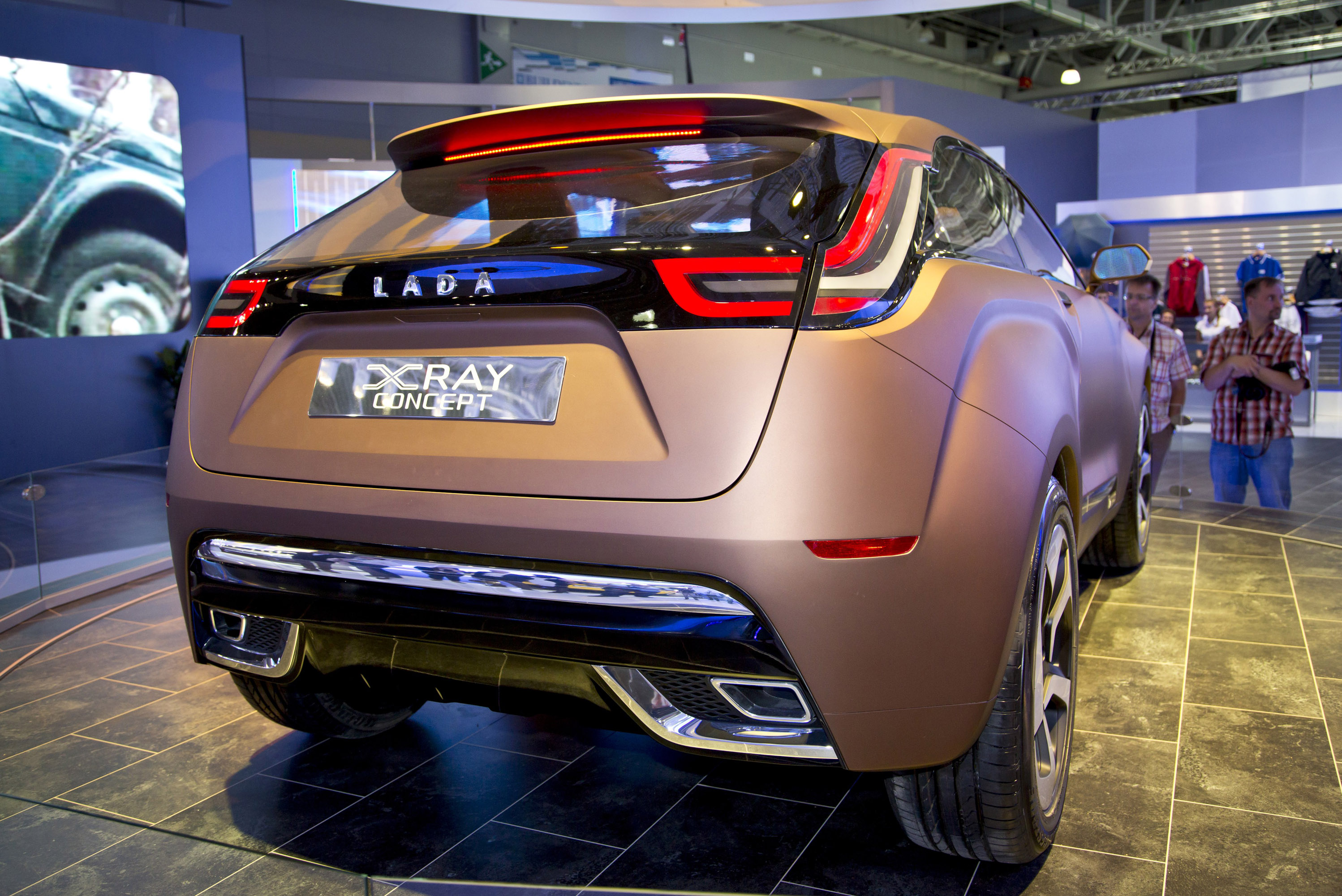 2013 Lada X Ray Concept World Premiere In Moscow Video