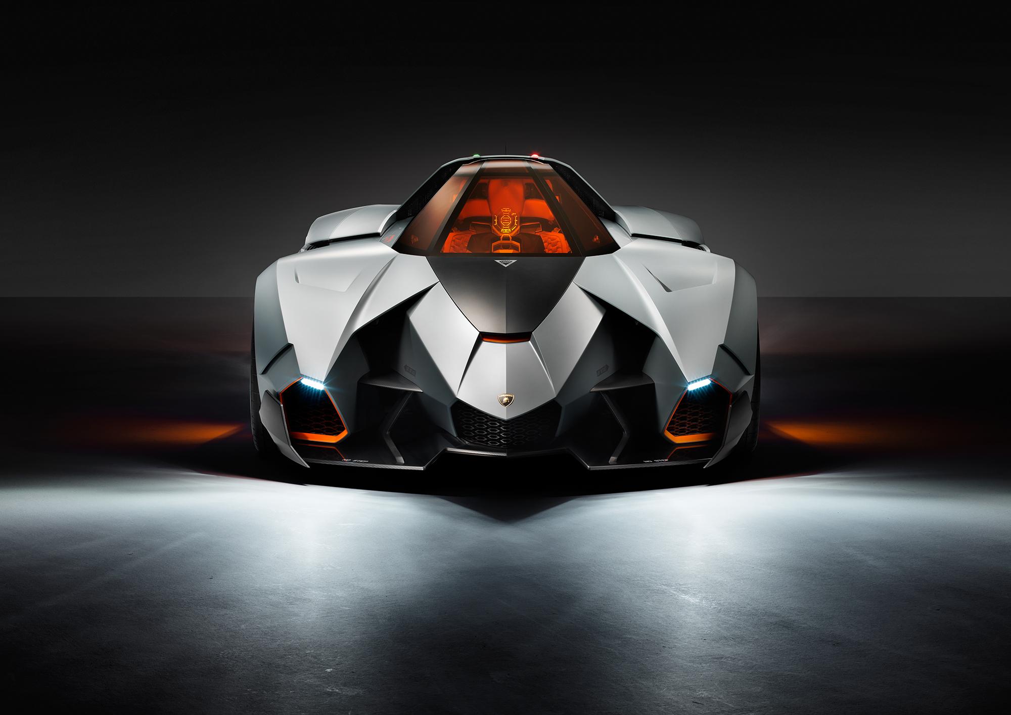 Lamborghini Egoista On Stage Video