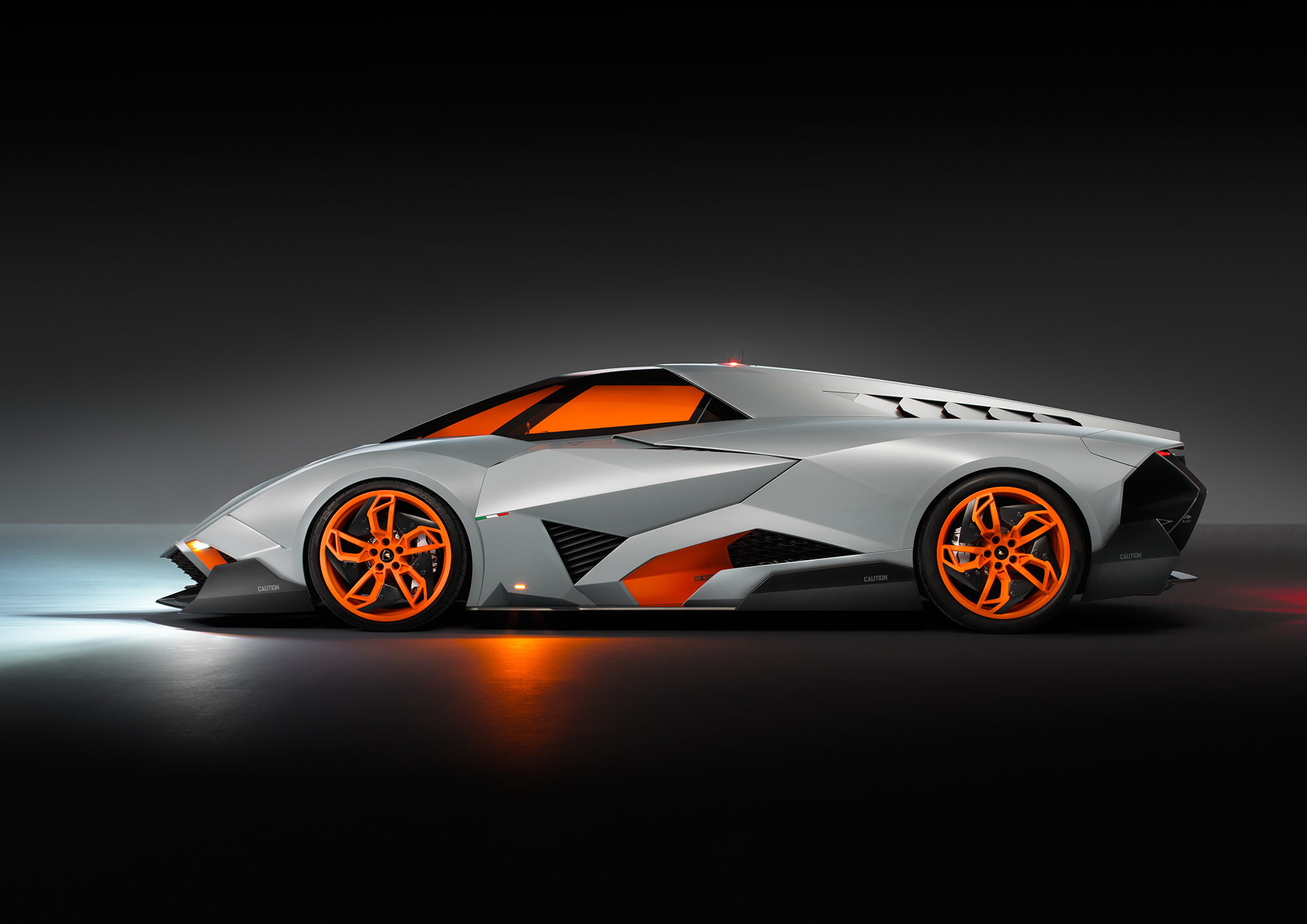 Exclusive Lamborghini Egoista Unveiled