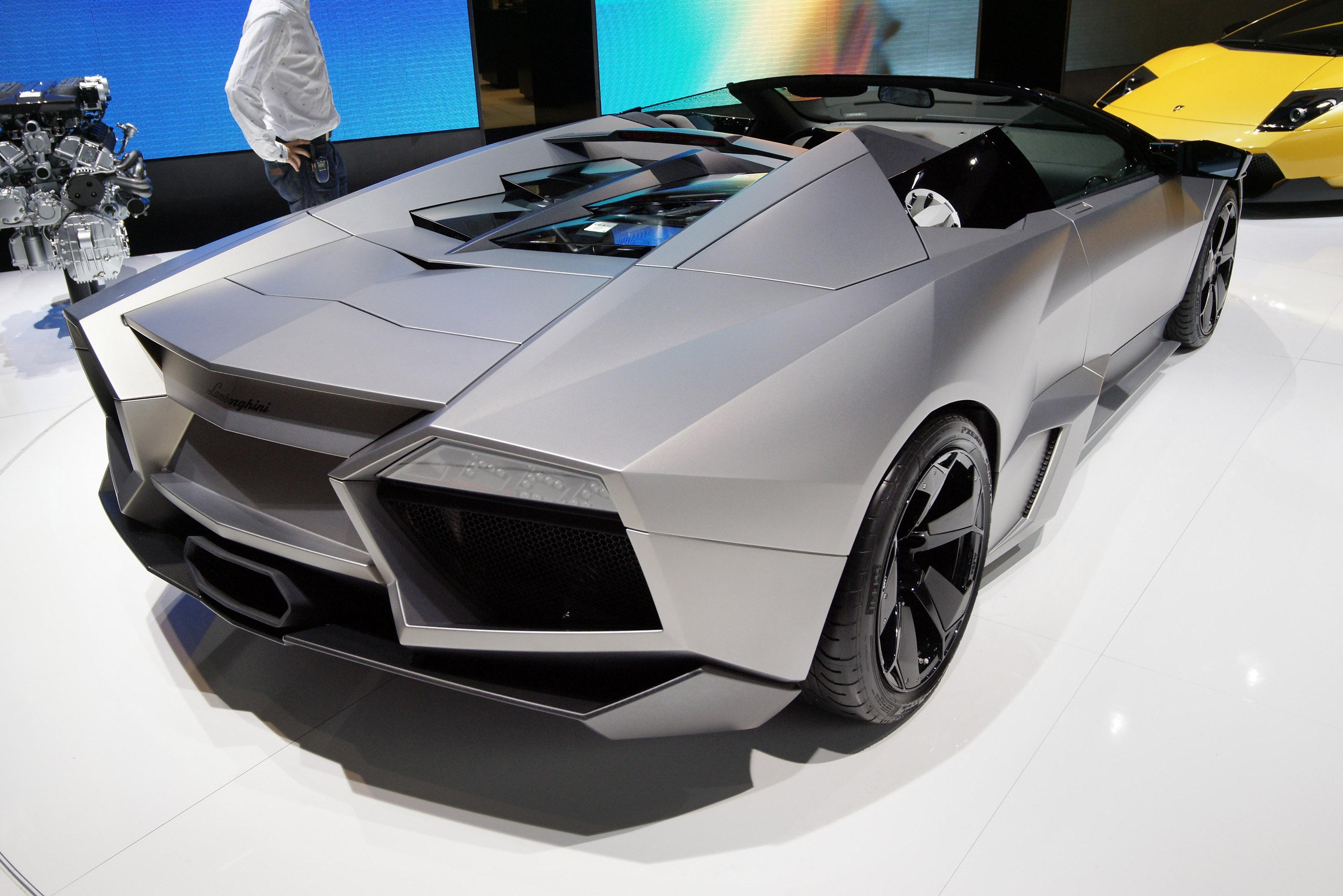 Igoogleautos Lamborghini Reventon Roadster Specification