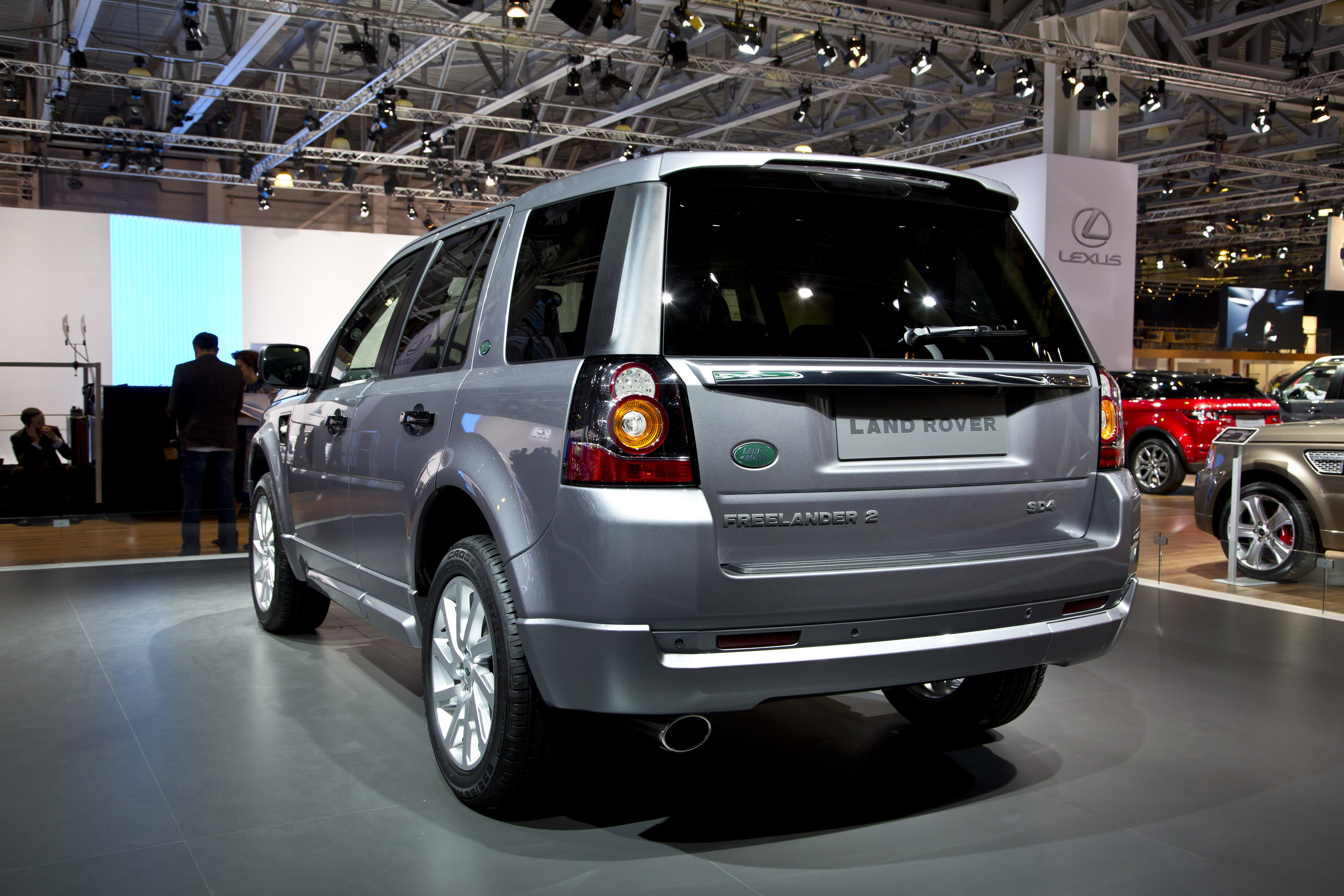 Land Rover Freelander 2 Moscow 2012 - Picture 73900