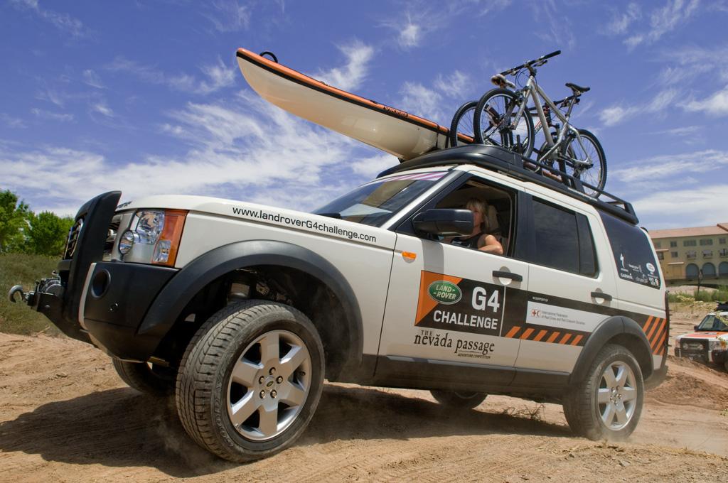 Land Rover G4 Challenge Nevada Passage Adventure