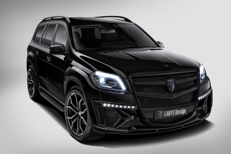 Larte Design Mercedes Benz Gl Black Crystal Is Big Bold