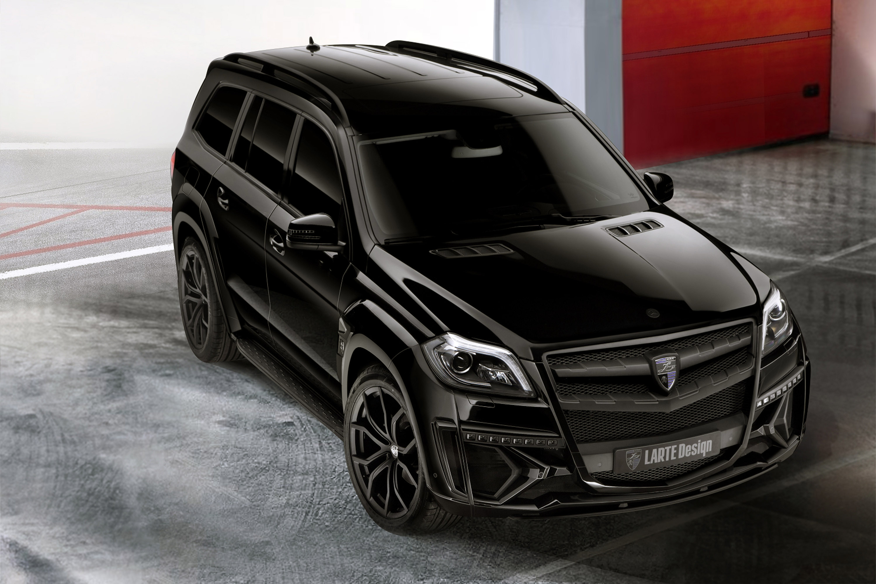 Mercedes Gl New Body Style