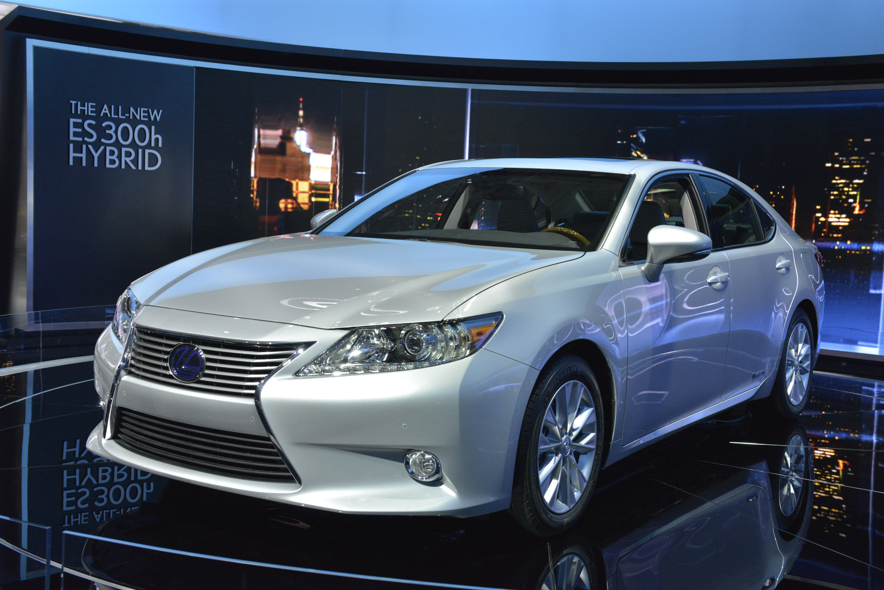 Lexus Es 300h Hybrid New York 2012 Picture 67755