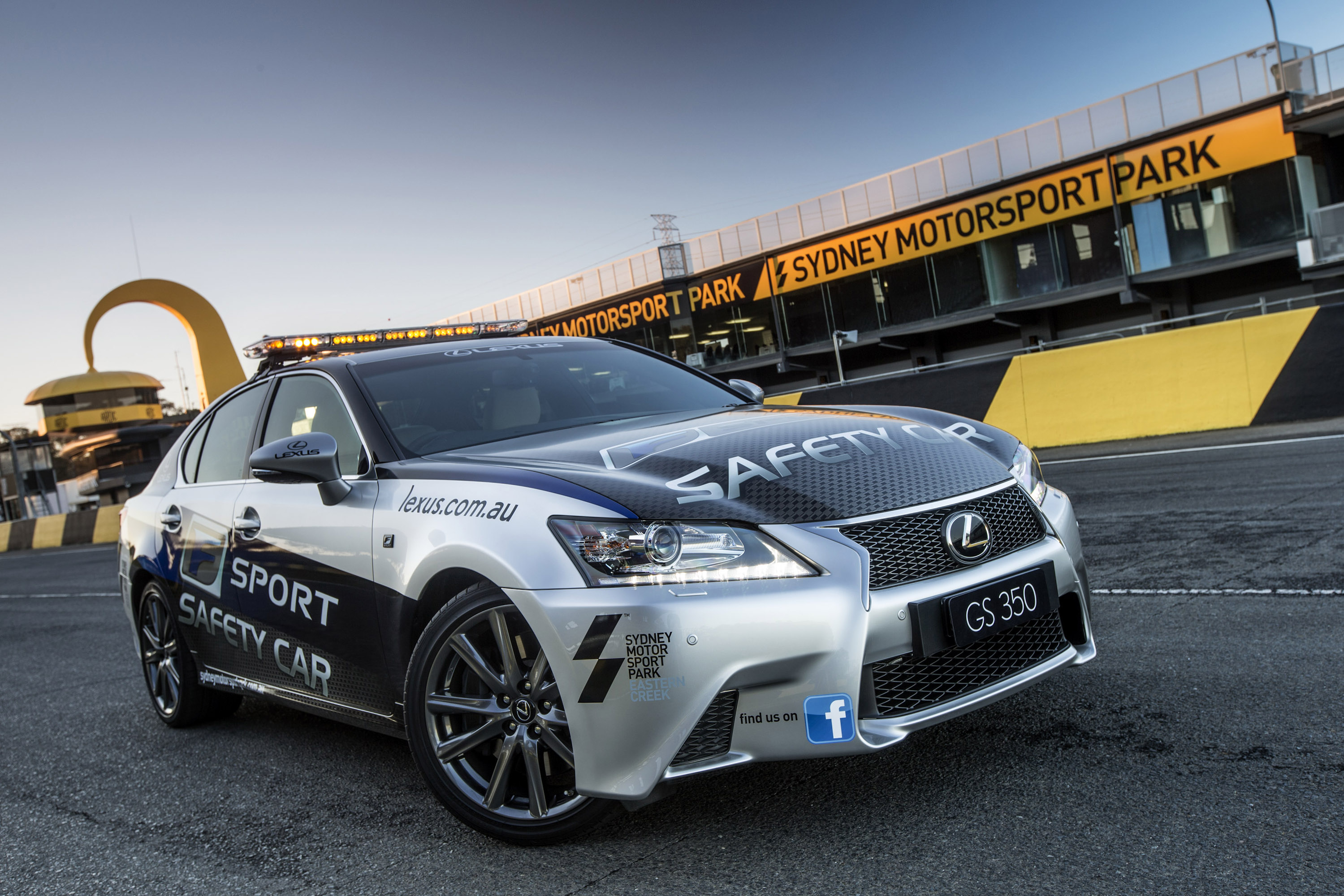 Lexus GS 350 F Sport Debuts As A Safety Car
