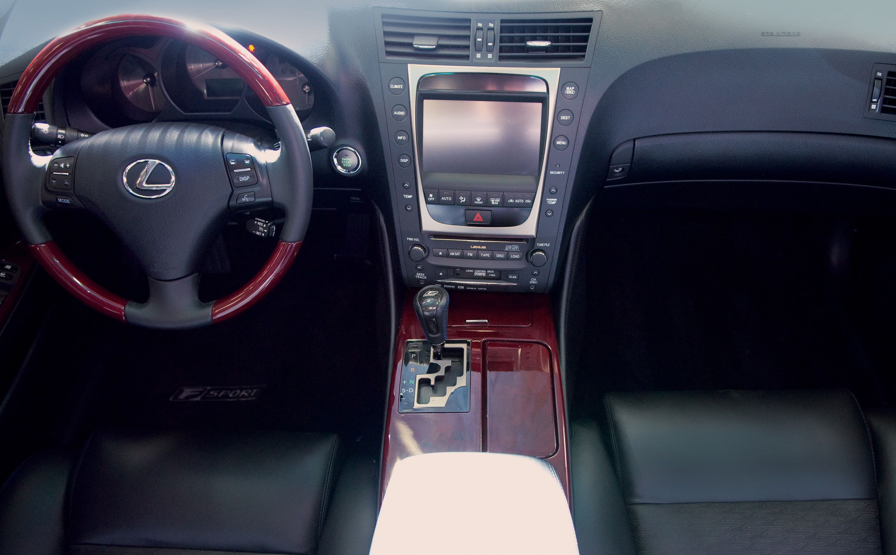 shifting cruising in a luxury front red gs gears the lexus liner