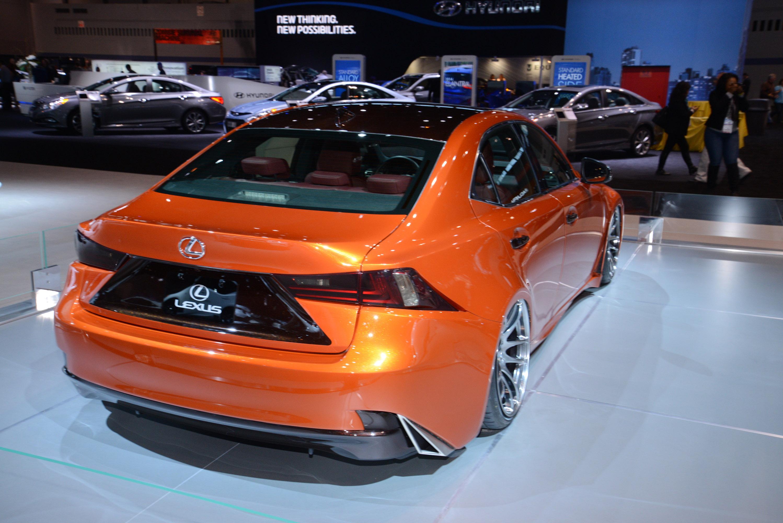 Lexus Is 250 F Sport Chicago 2014 Picture 96250