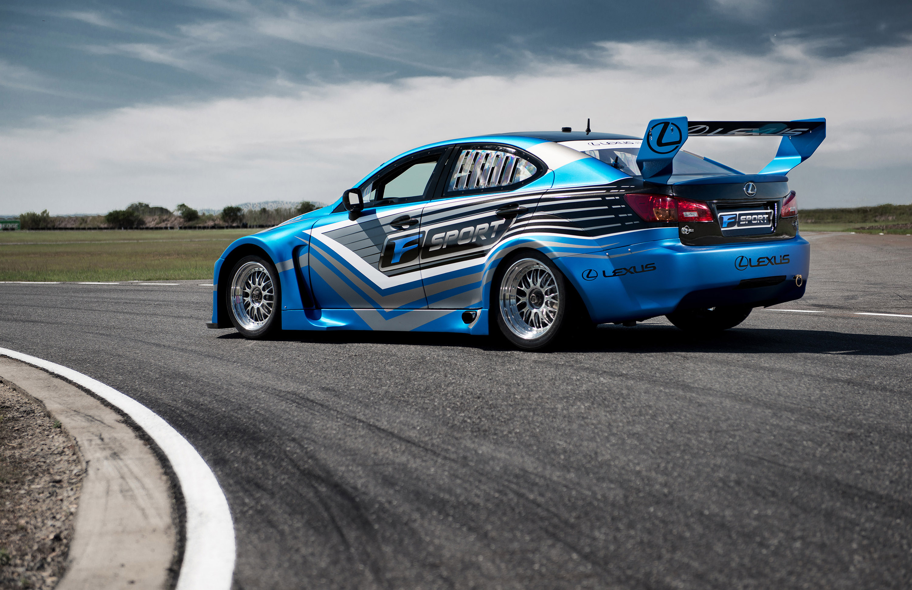 Lexus IS F Race Car Generates 600 Horsepower