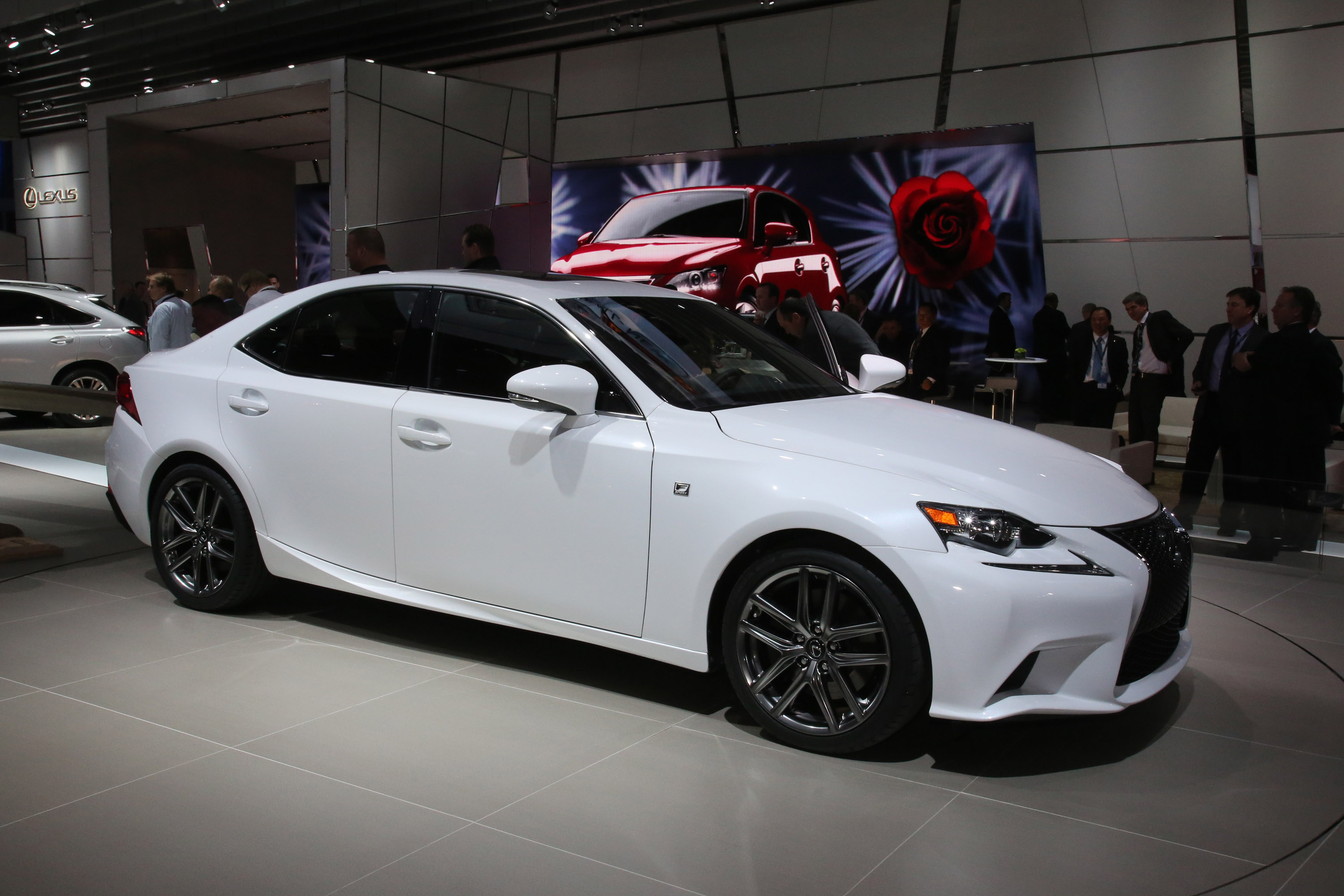 Lexus Is F Sport Detroit 2013 Picture 79906