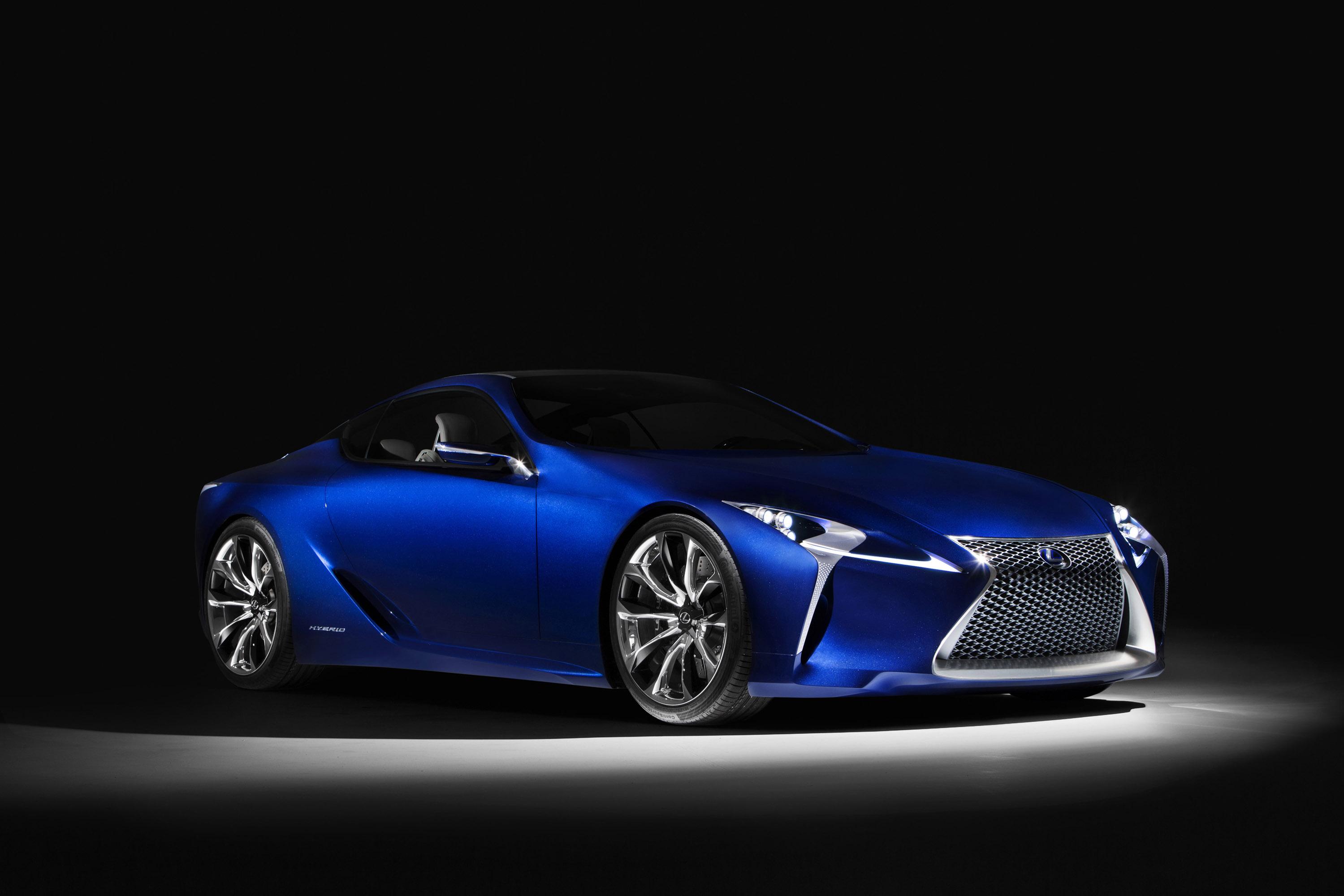 Lexus Concept Car: Lexus LF-LC Blue Concept Revealed In Sydney