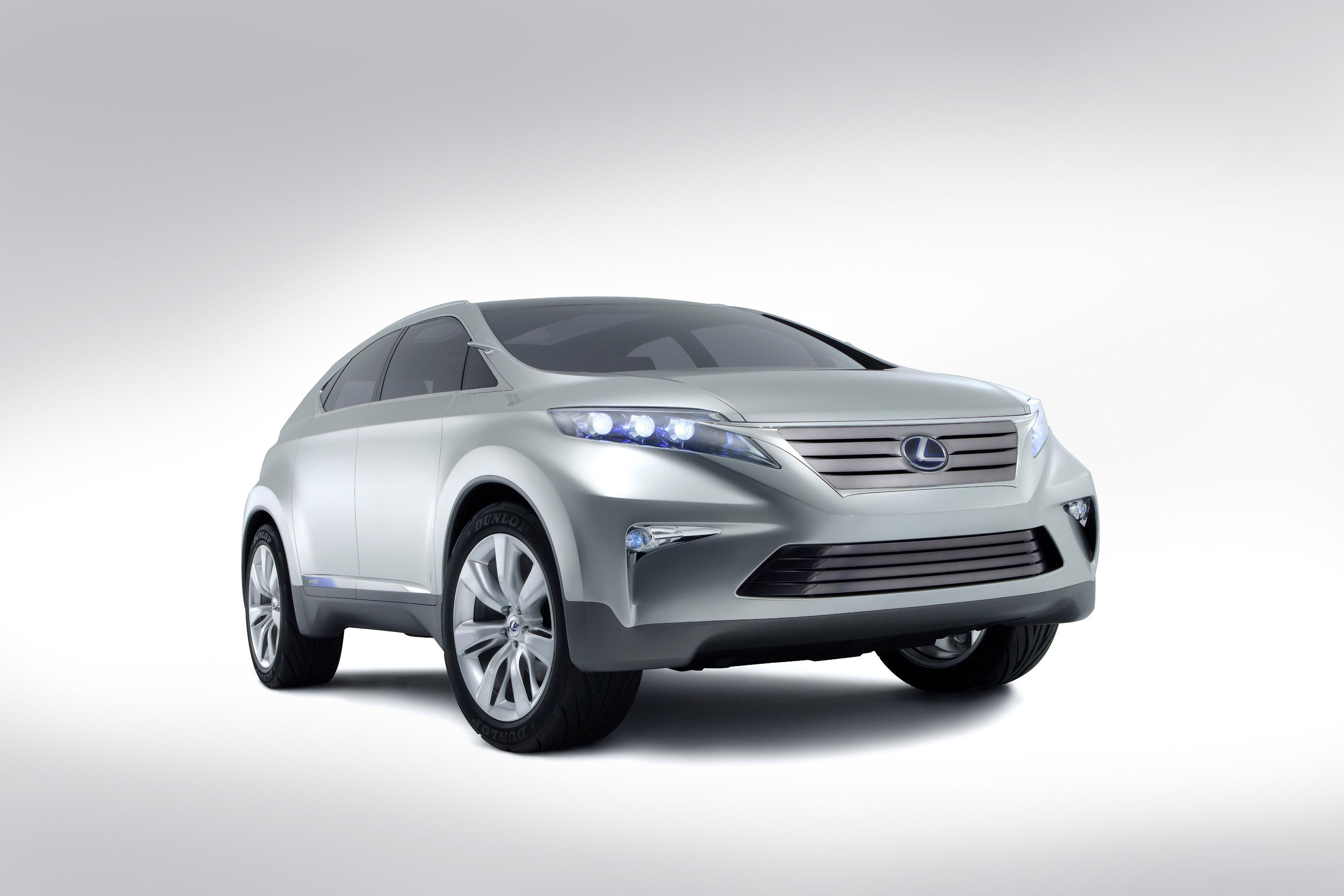 Lexus To Show Hybrid Concept At Australian International Motor 2007 Ford 3 0 V6 Engine Diagram Lf Xh Suv Of 4