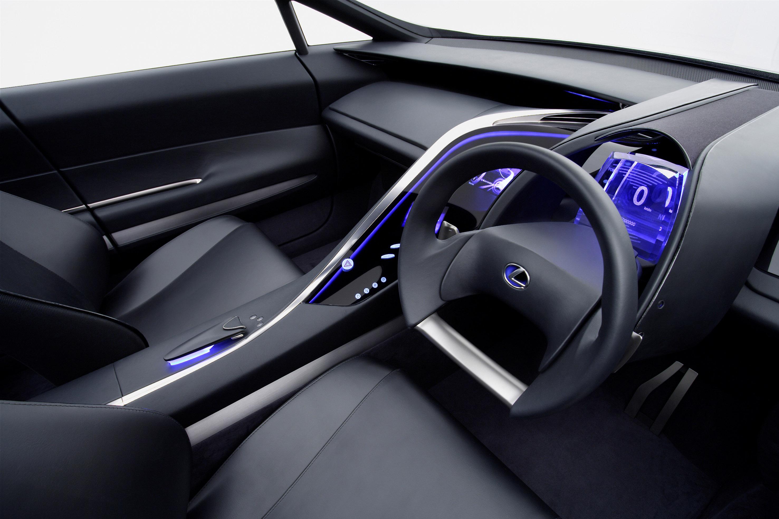 Lexus Lf Xh Hybrid Suv Concept