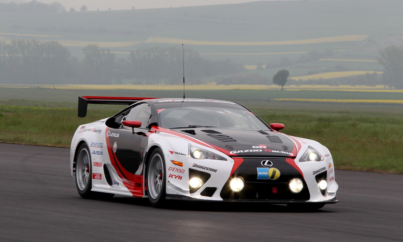 Lexus and Gazoo Racing at Nurburgring 24 Hours Endurance Race