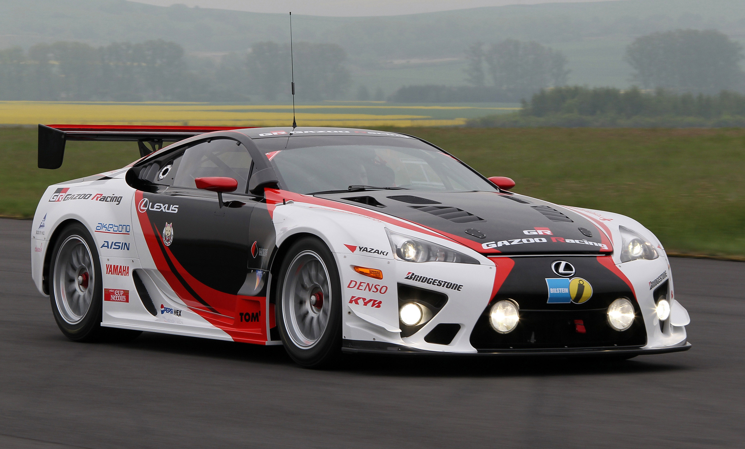 lexus and gazoo racing at nurburgring 24 hours endurance race. Black Bedroom Furniture Sets. Home Design Ideas