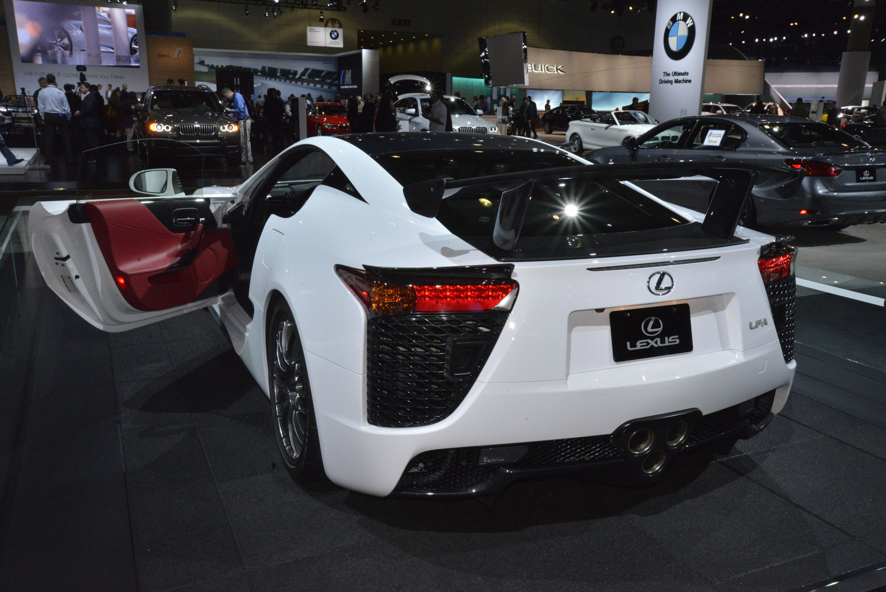 ... Lexus LFA Los Angeles 2012, ...